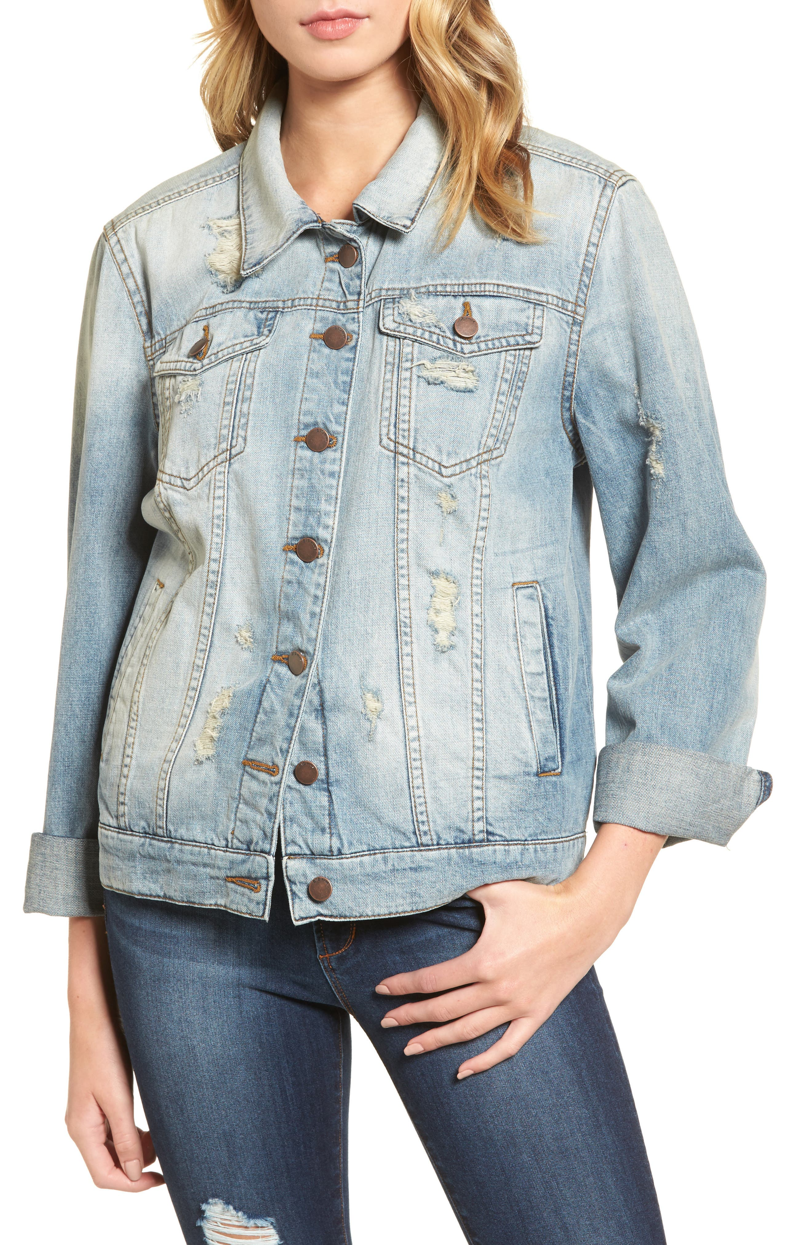 Been There Denim Jacket,                             Main thumbnail 1, color,                             400