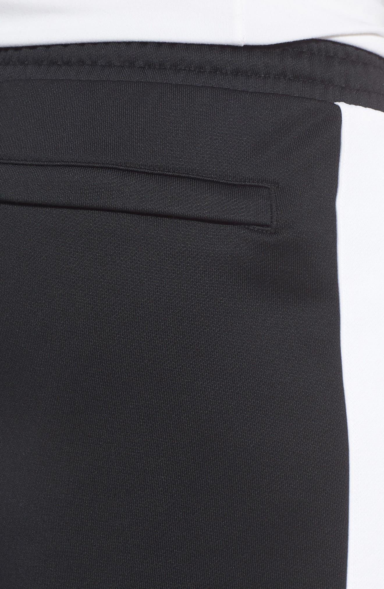 Retro Sweatpants,                             Alternate thumbnail 4, color,                             PUMA BLACK