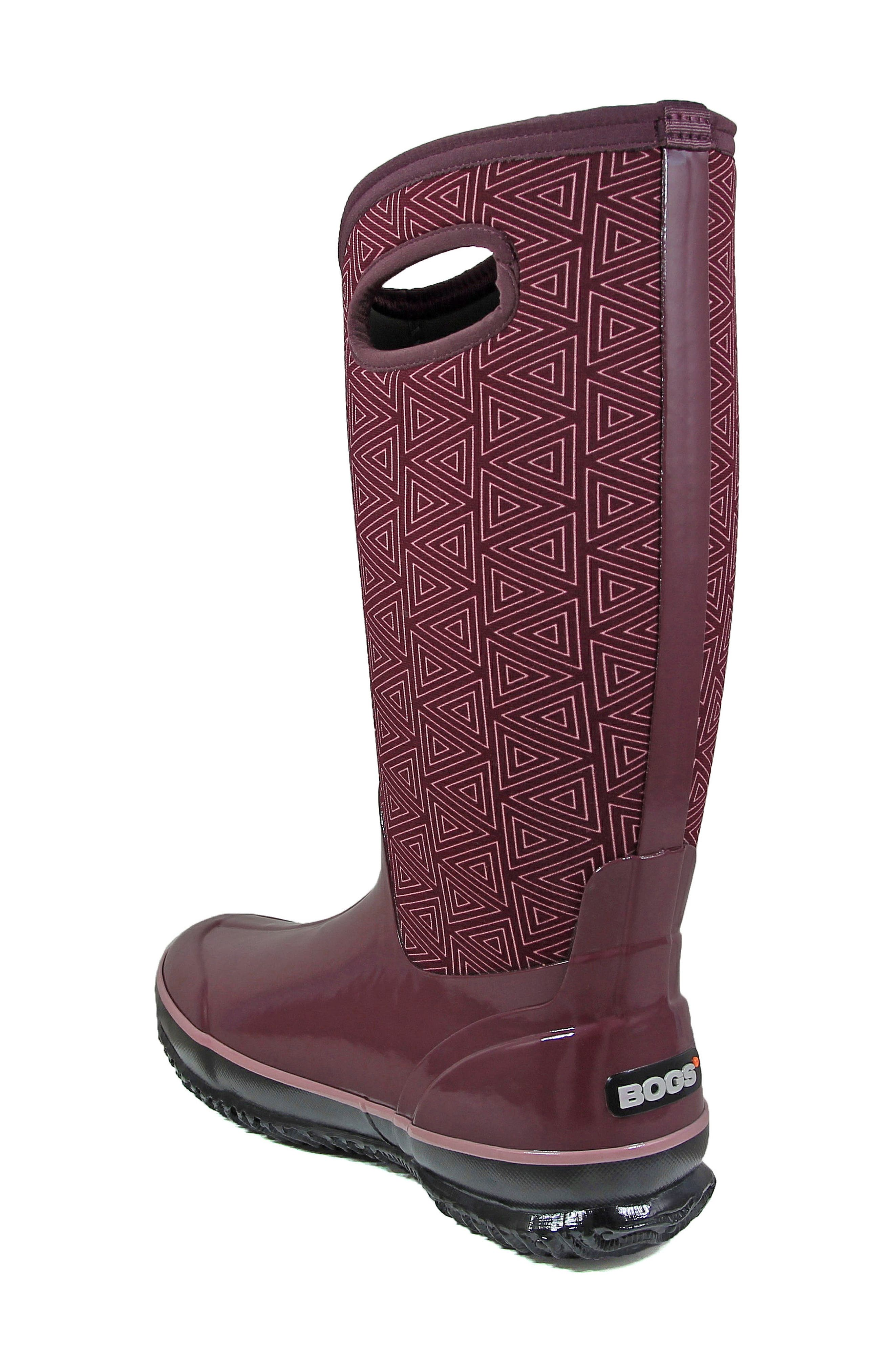 Classic Triangles Waterproof Subzero Insulated Boot,                             Alternate thumbnail 6, color,