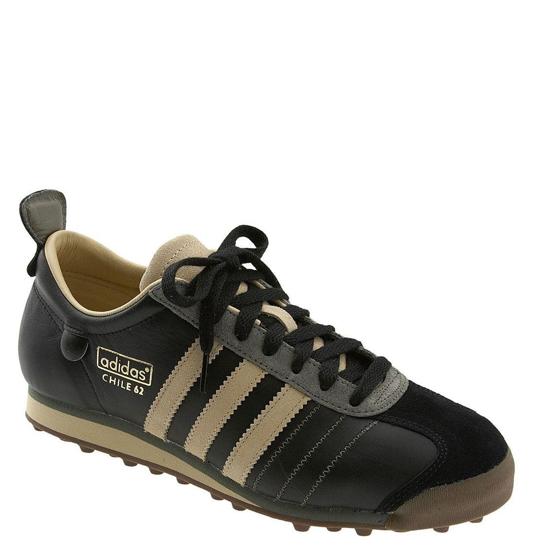 'Chile 62' Soccer Shoe, Main, color, BWH