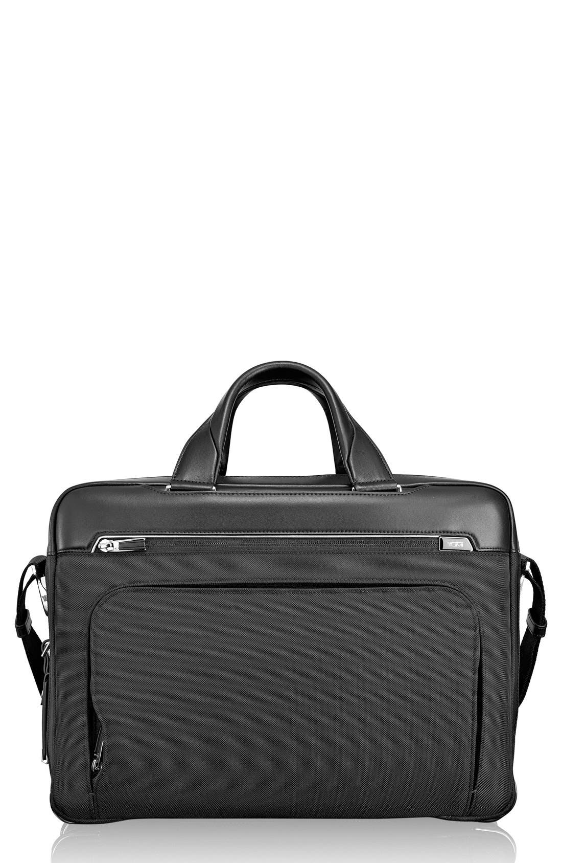 Arrivé - Sawyer Briefcase,                             Main thumbnail 1, color,                             001