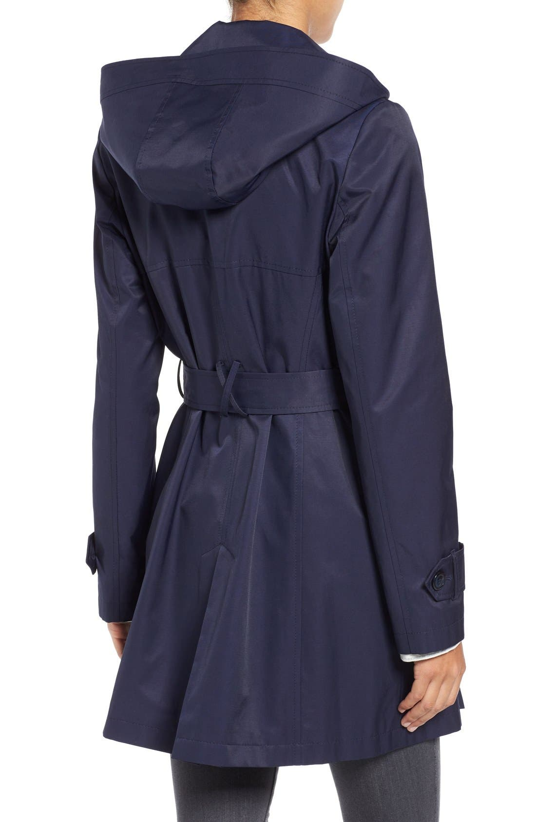 Detachable Hood Trench Coat,                             Alternate thumbnail 15, color,