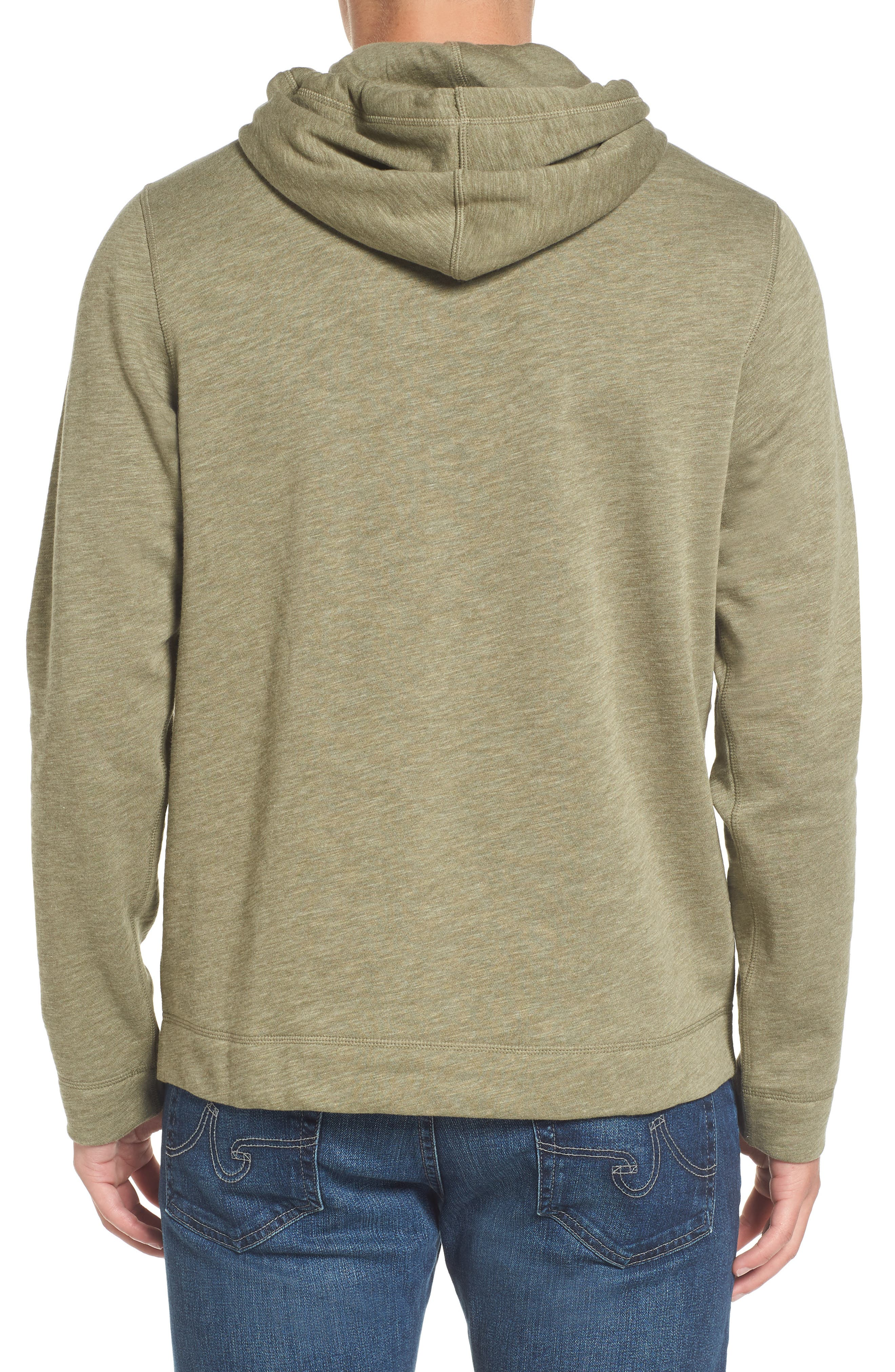 Brushed Fleece Hoodie,                             Alternate thumbnail 2, color,                             028