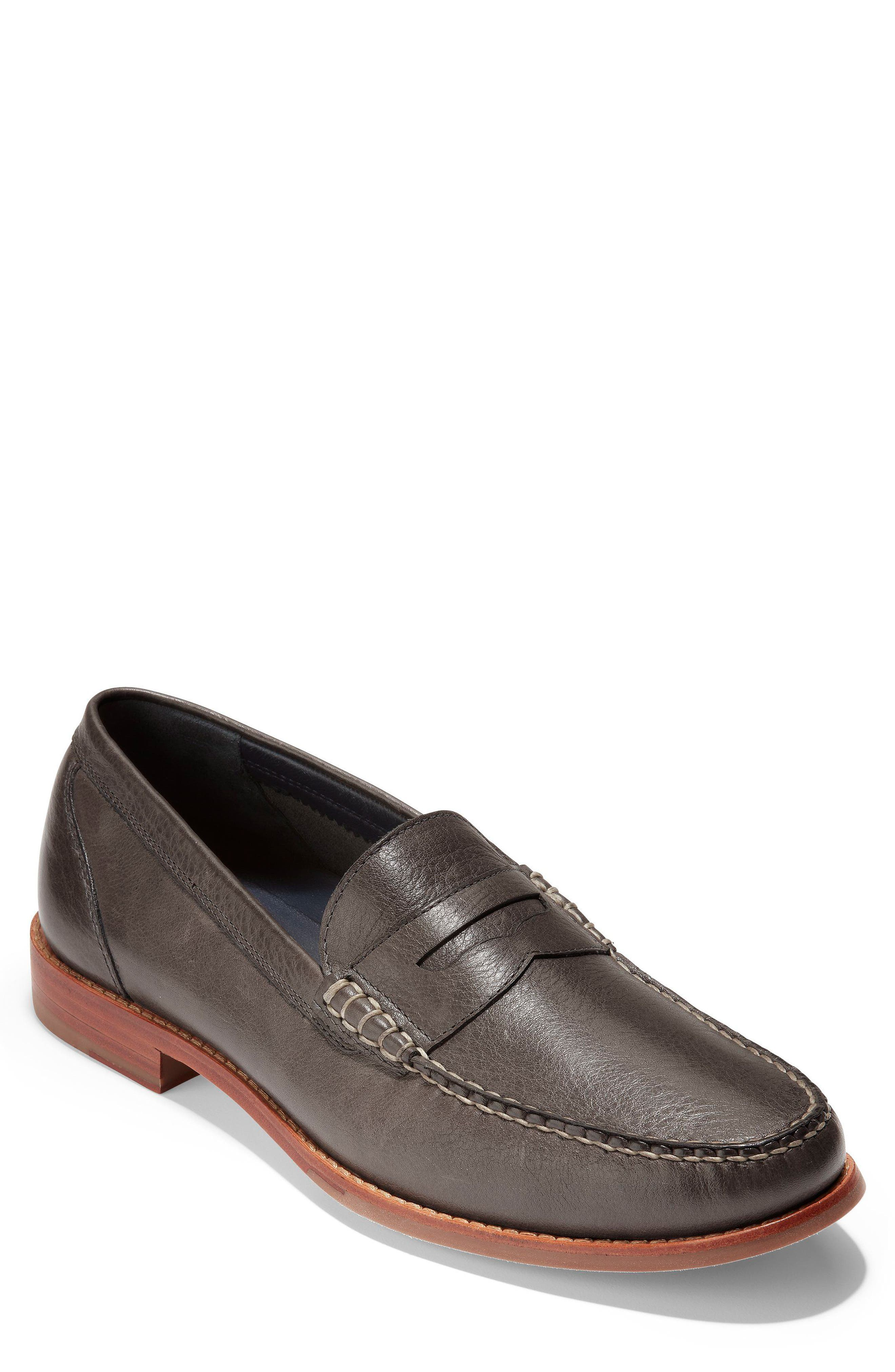'Pinch Grand' Penny Loafer,                             Main thumbnail 1, color,                             021