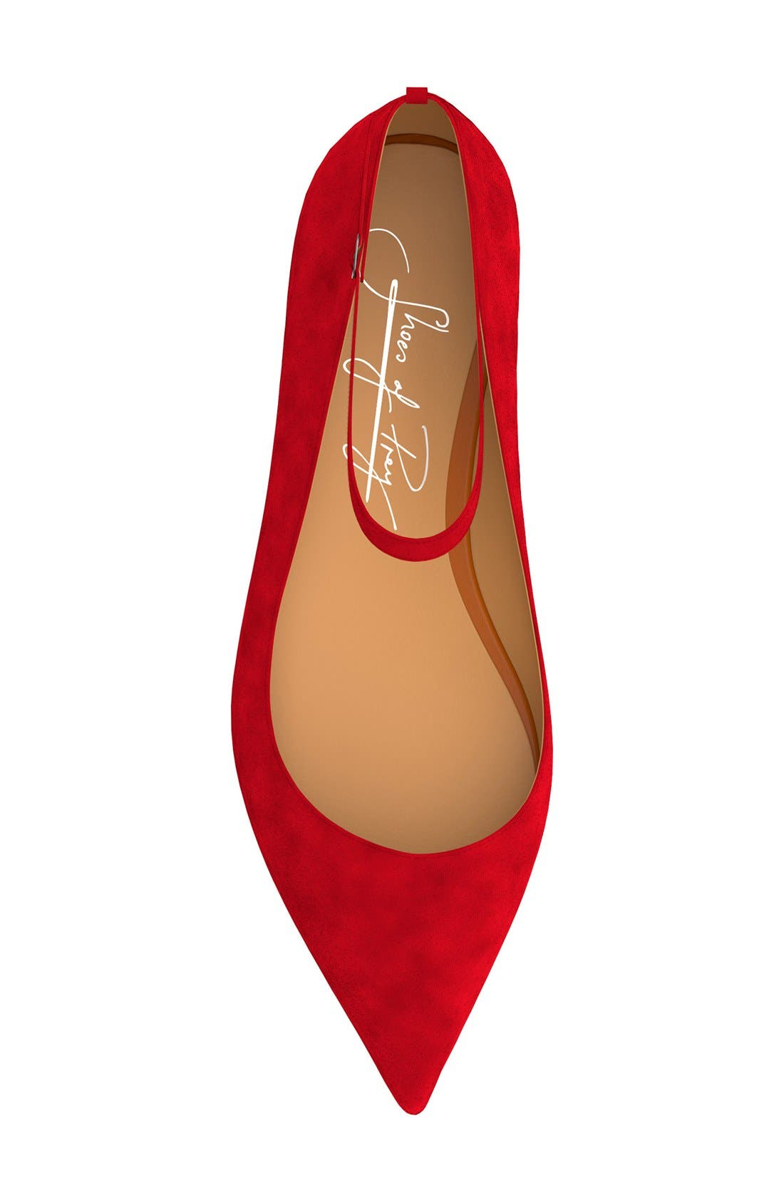 Ankle Strap Flat,                             Alternate thumbnail 19, color,