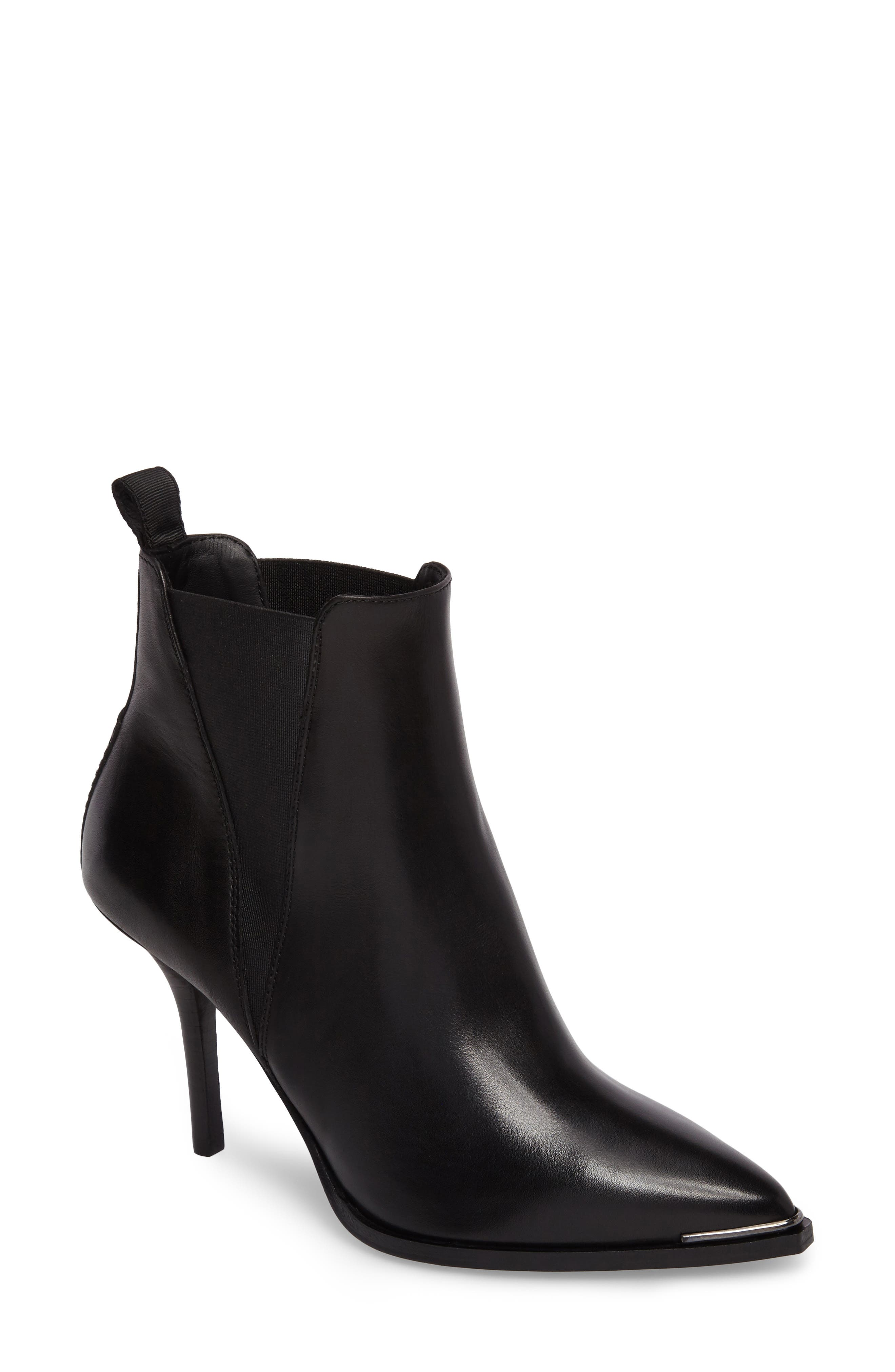 Jemma Pointy Toe Bootie,                         Main,                         color, 001