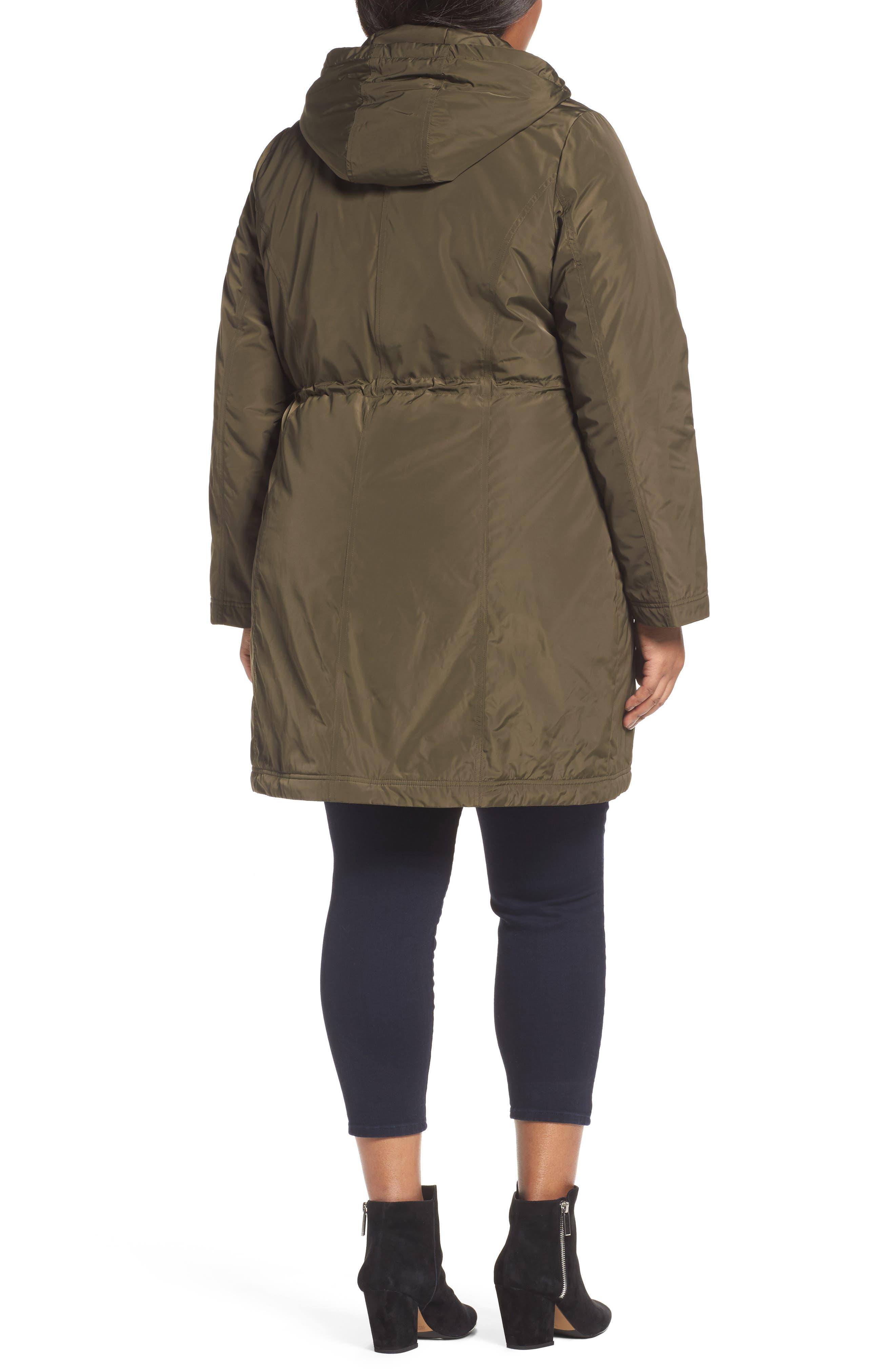 Tiffany Raincoat,                             Alternate thumbnail 5, color,