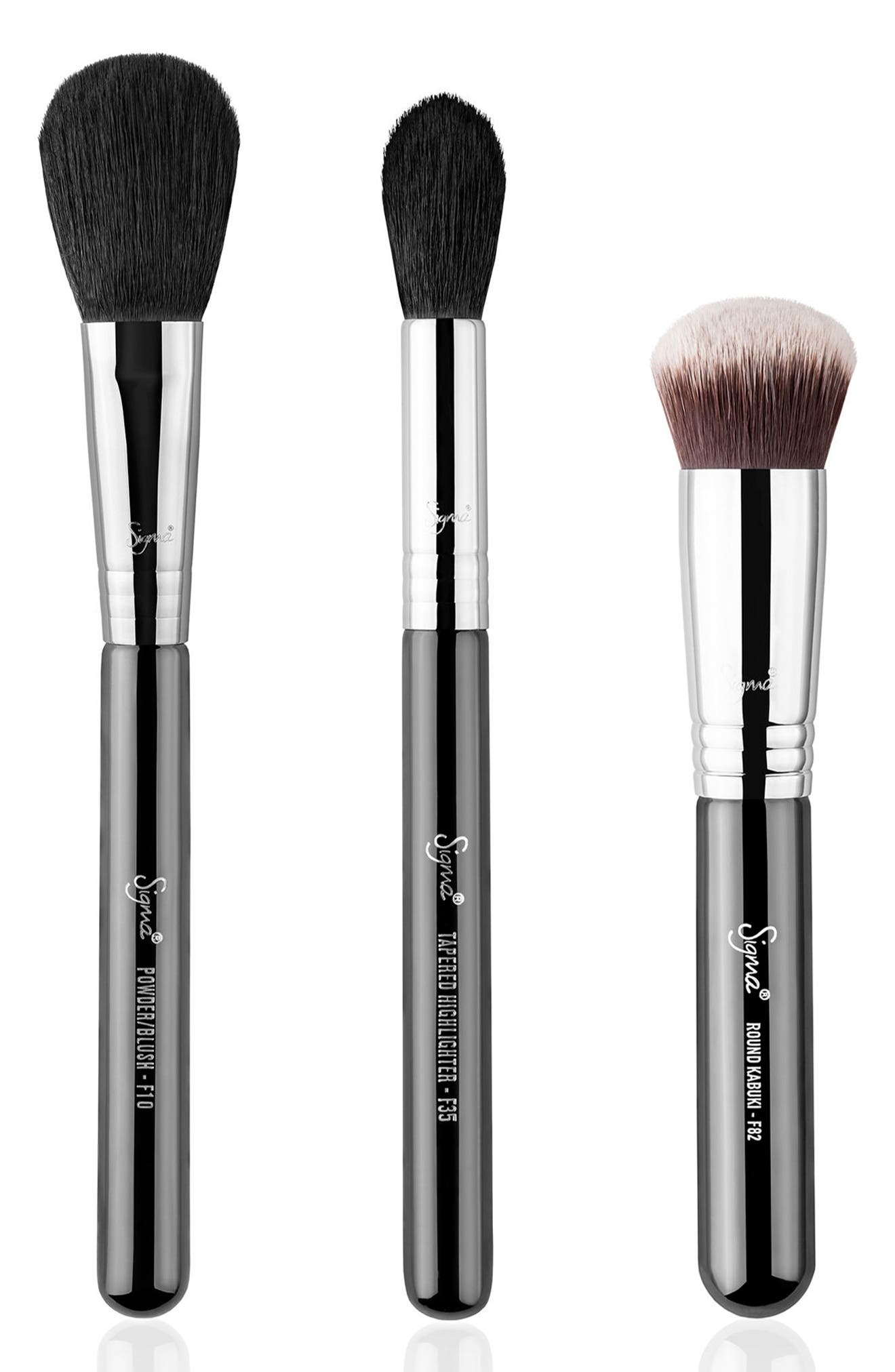 Sheer Cover Brush Set,                             Alternate thumbnail 2, color,                             NO COLOR