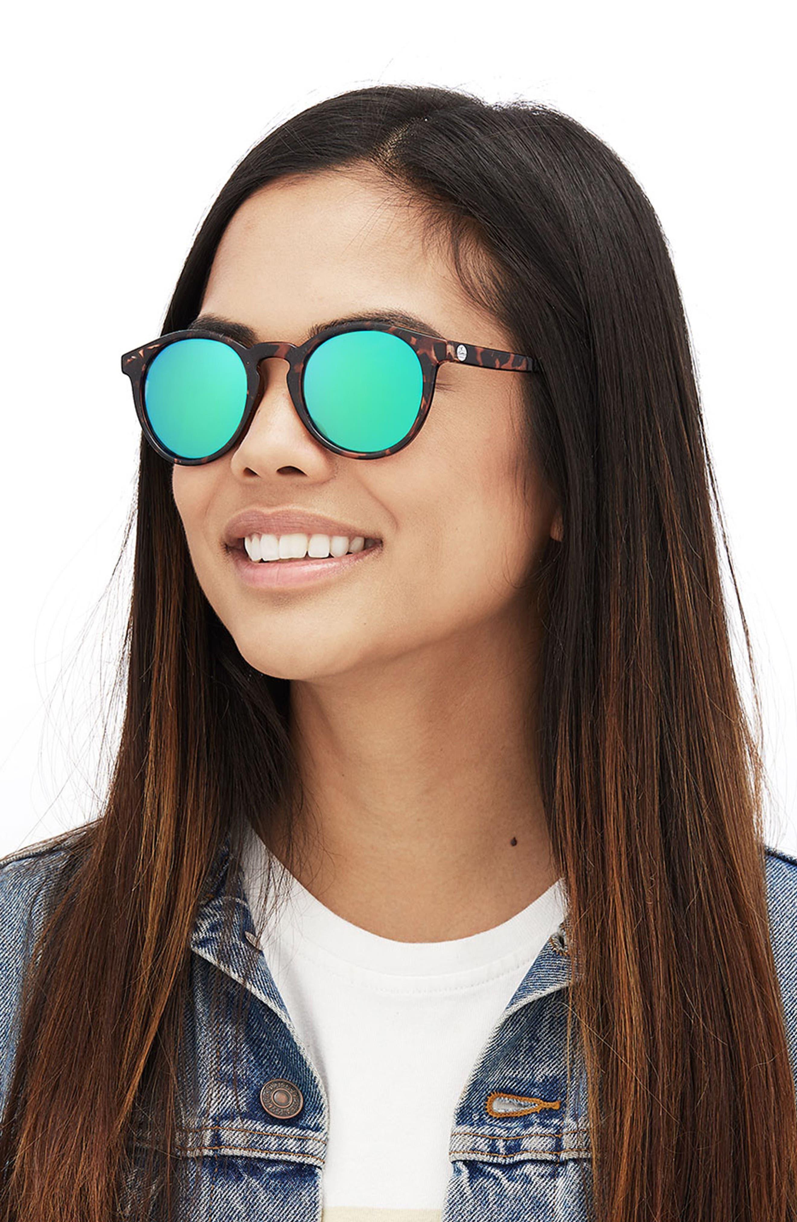Dipsea 48mm Polarized Sunglasses,                             Alternate thumbnail 6, color,                             TORTOISE EMERALD