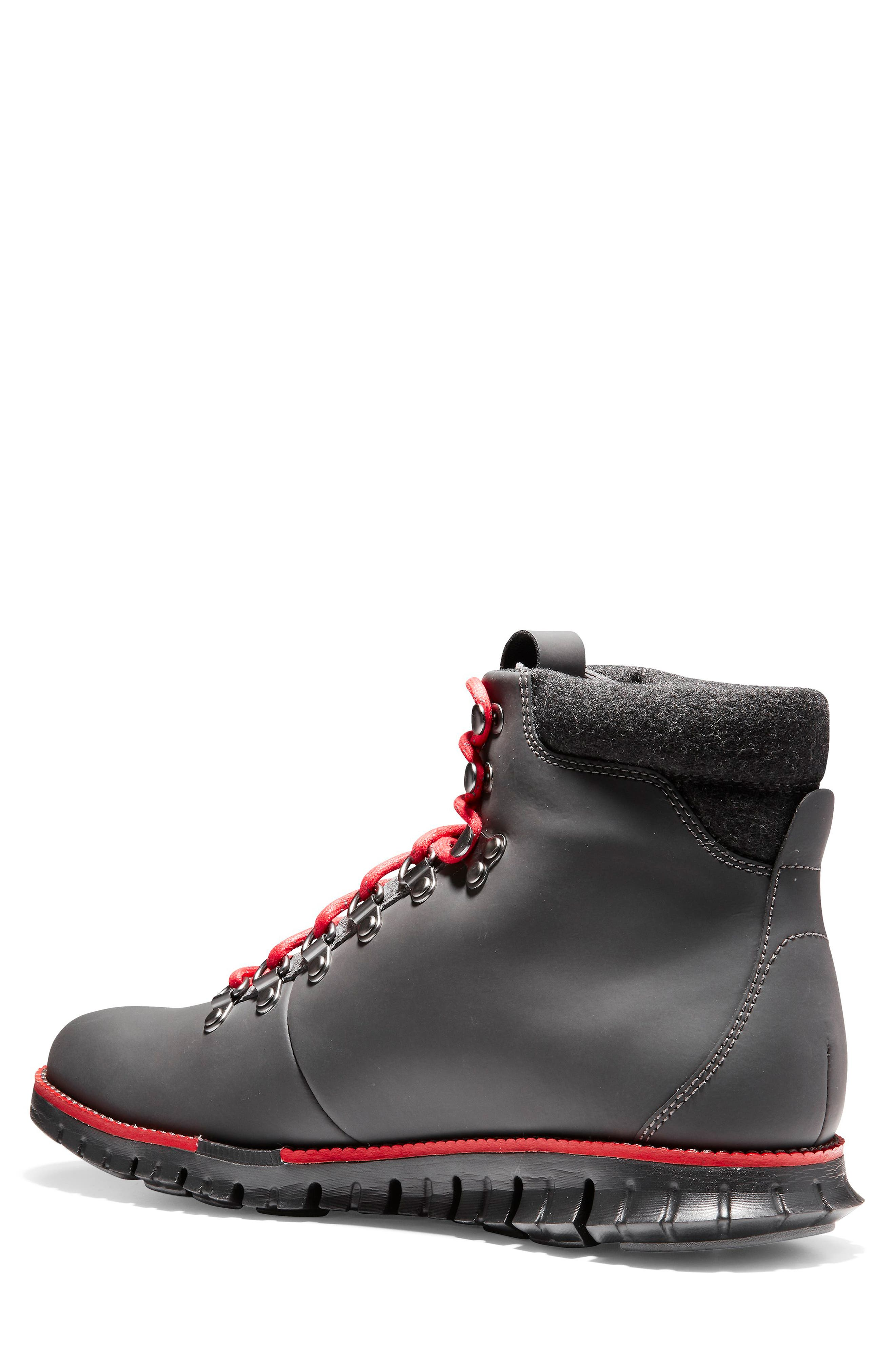 ZeroGrand Water Resistant Hiker Boot,                             Alternate thumbnail 2, color,                             MAGNET LEATHER