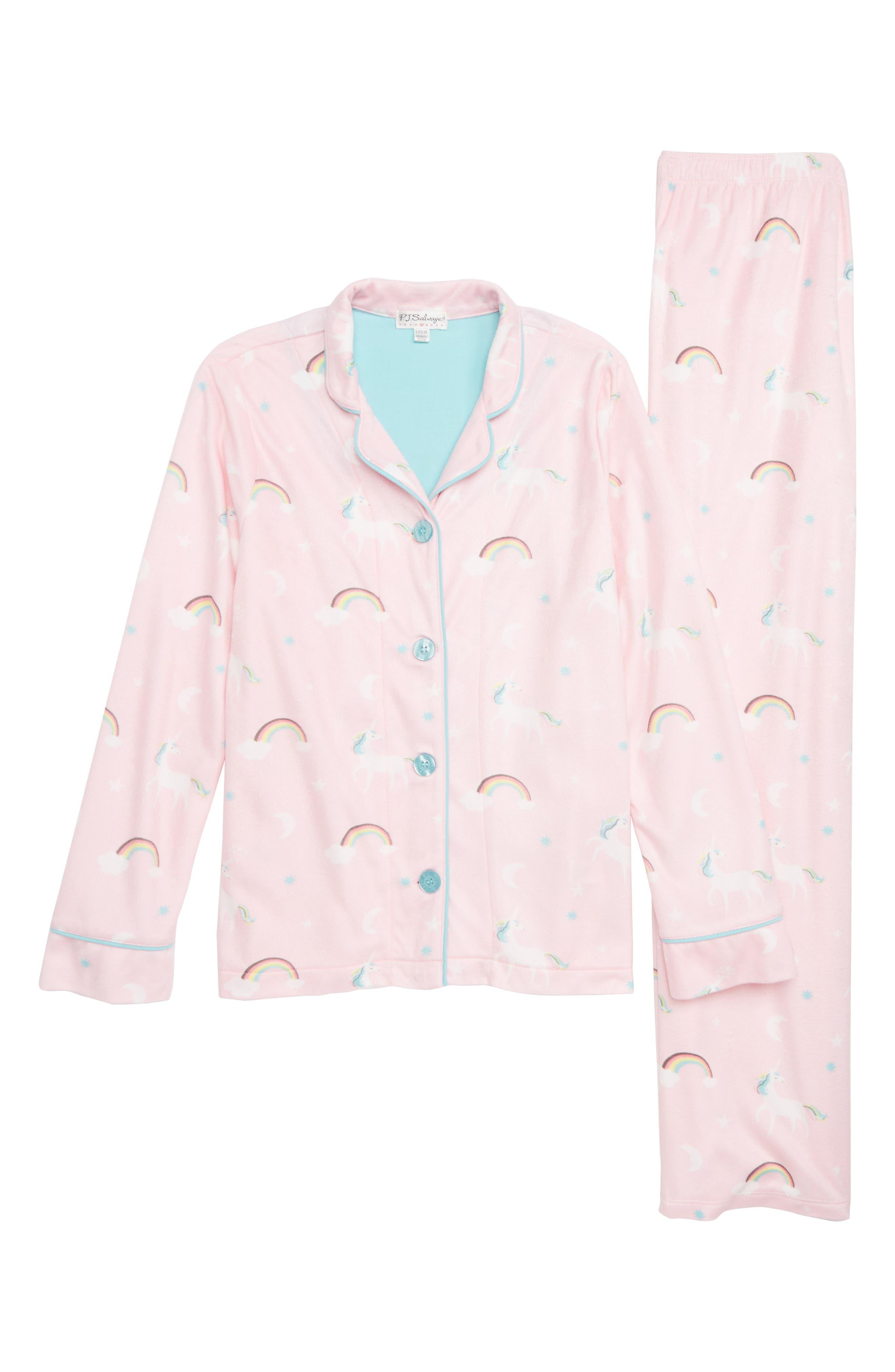 One of a Kind Pajamas,                             Main thumbnail 1, color,                             PINK