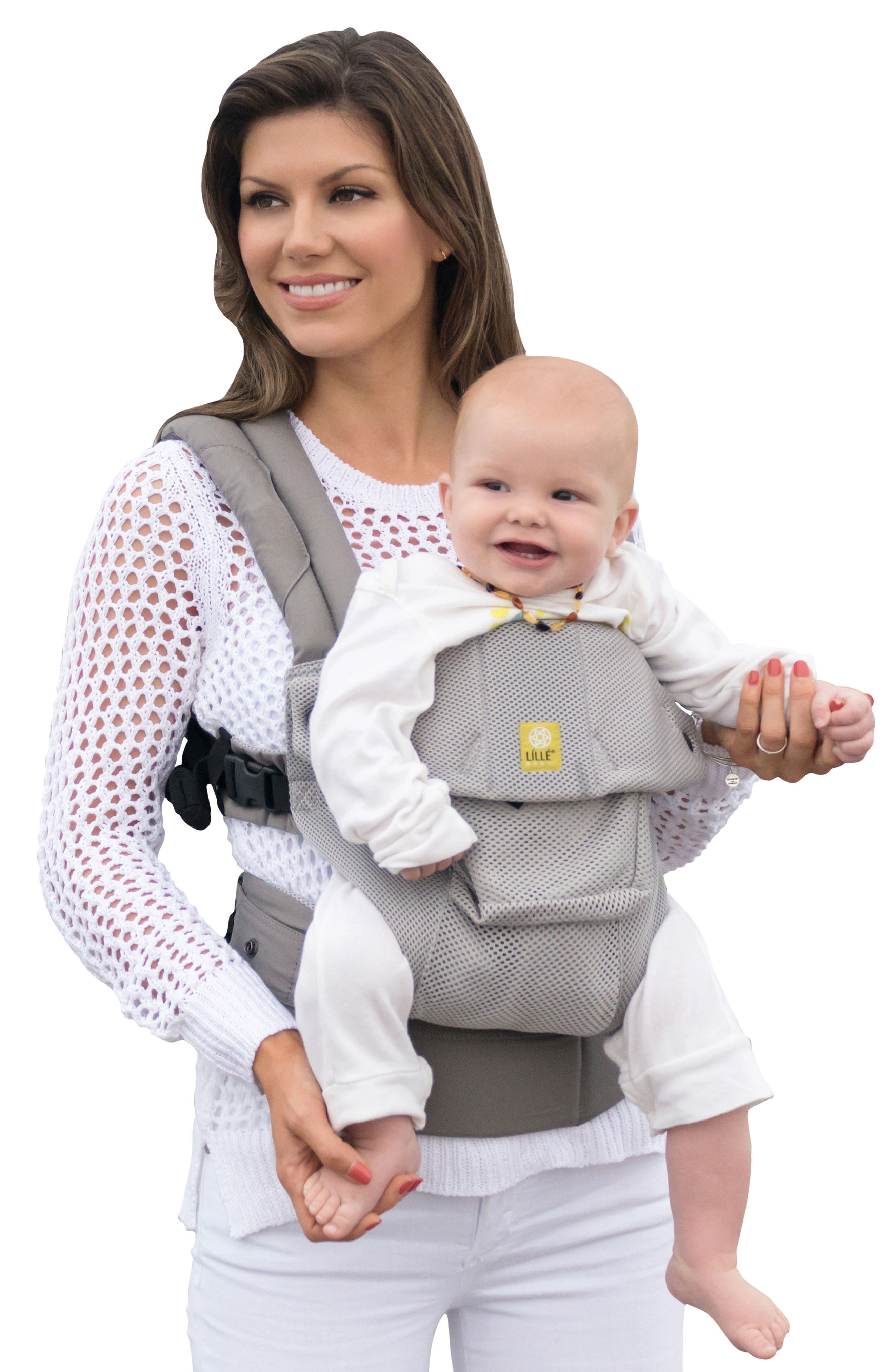 'Airflow' Baby Carrier,                             Main thumbnail 1, color,                             GREY MIST