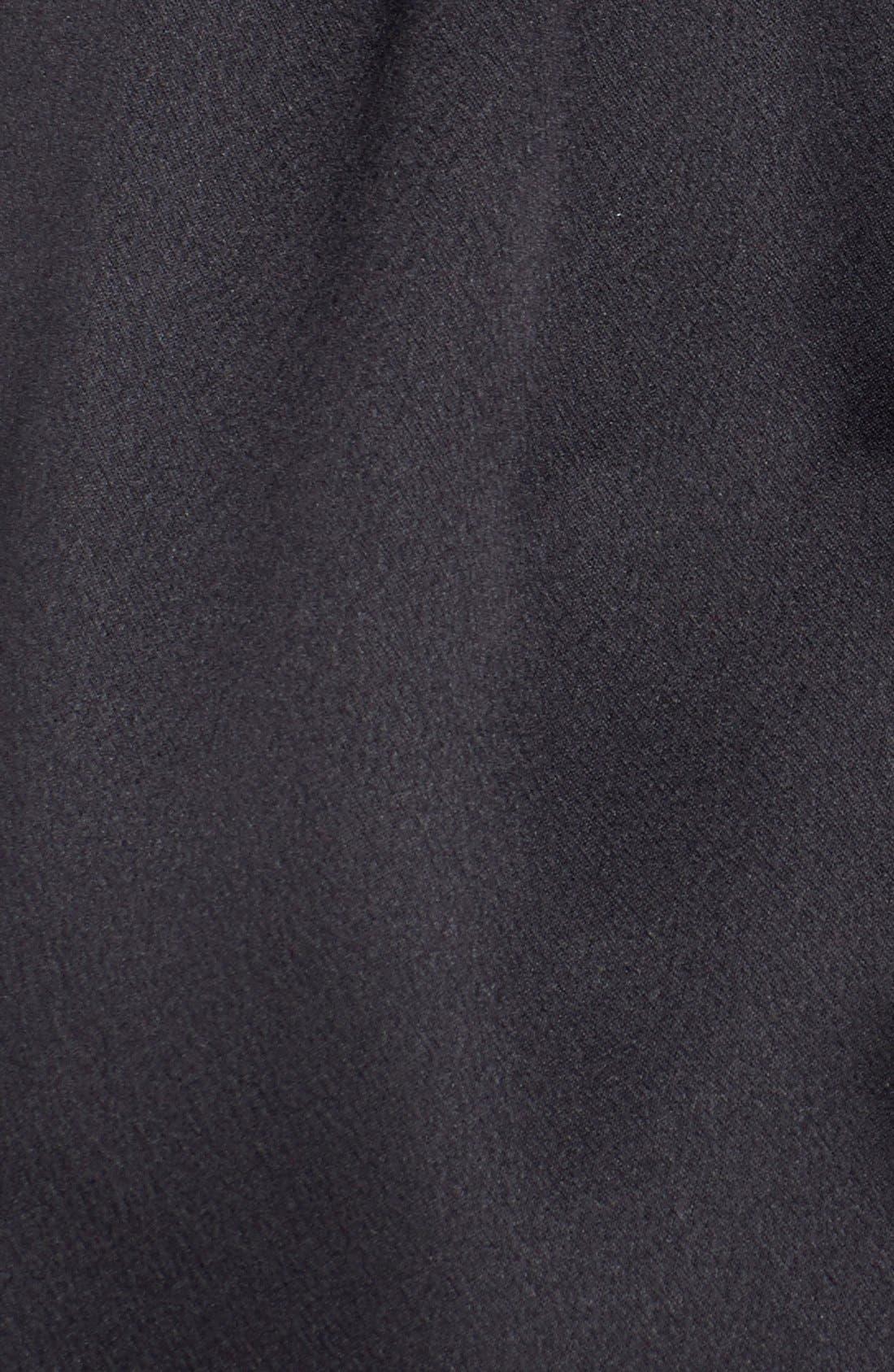 Showstopper Robe,                             Alternate thumbnail 9, color,                             BLACK