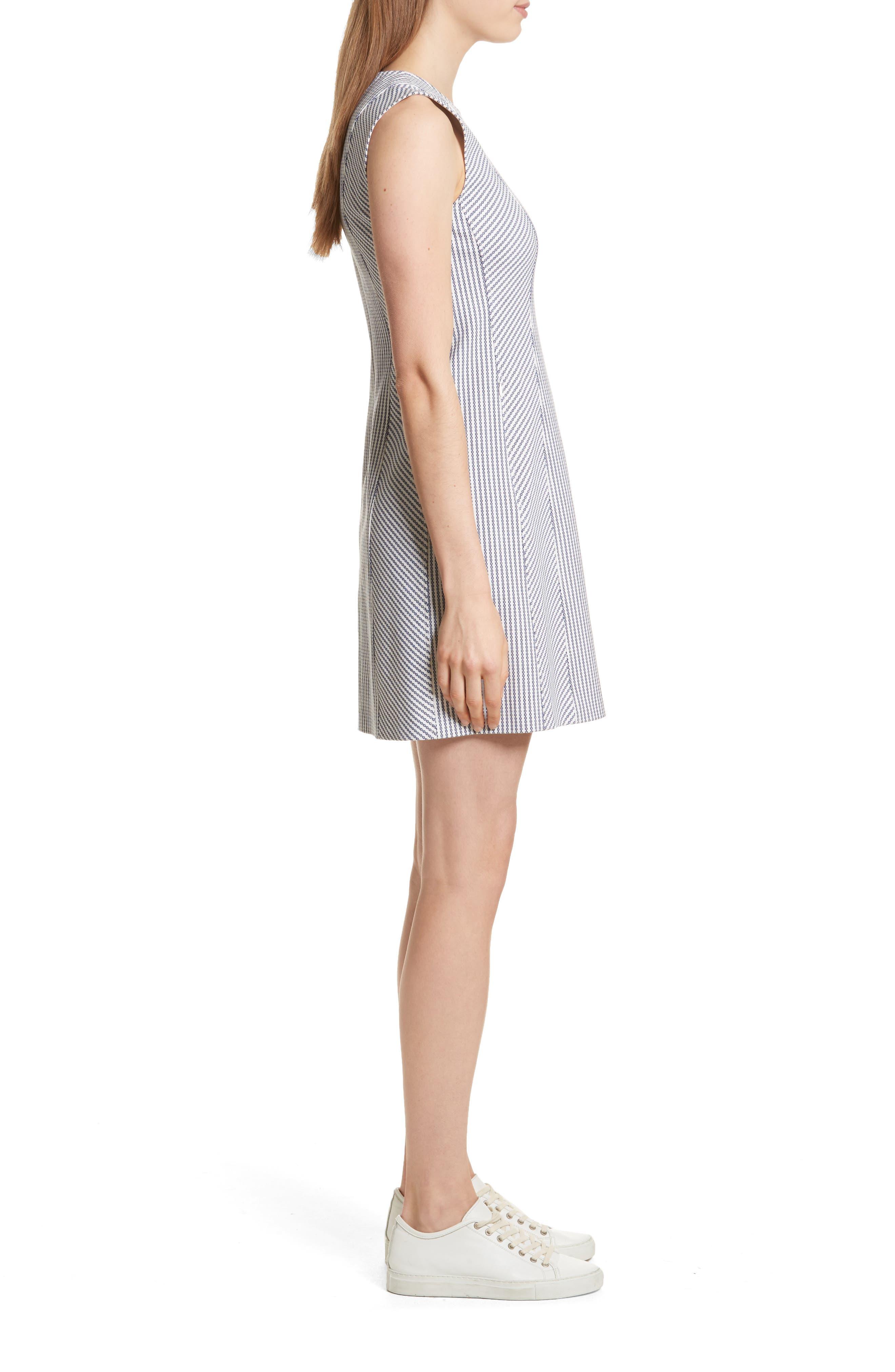 Helaina Sayre Stripe A-Line Dress,                             Alternate thumbnail 3, color,