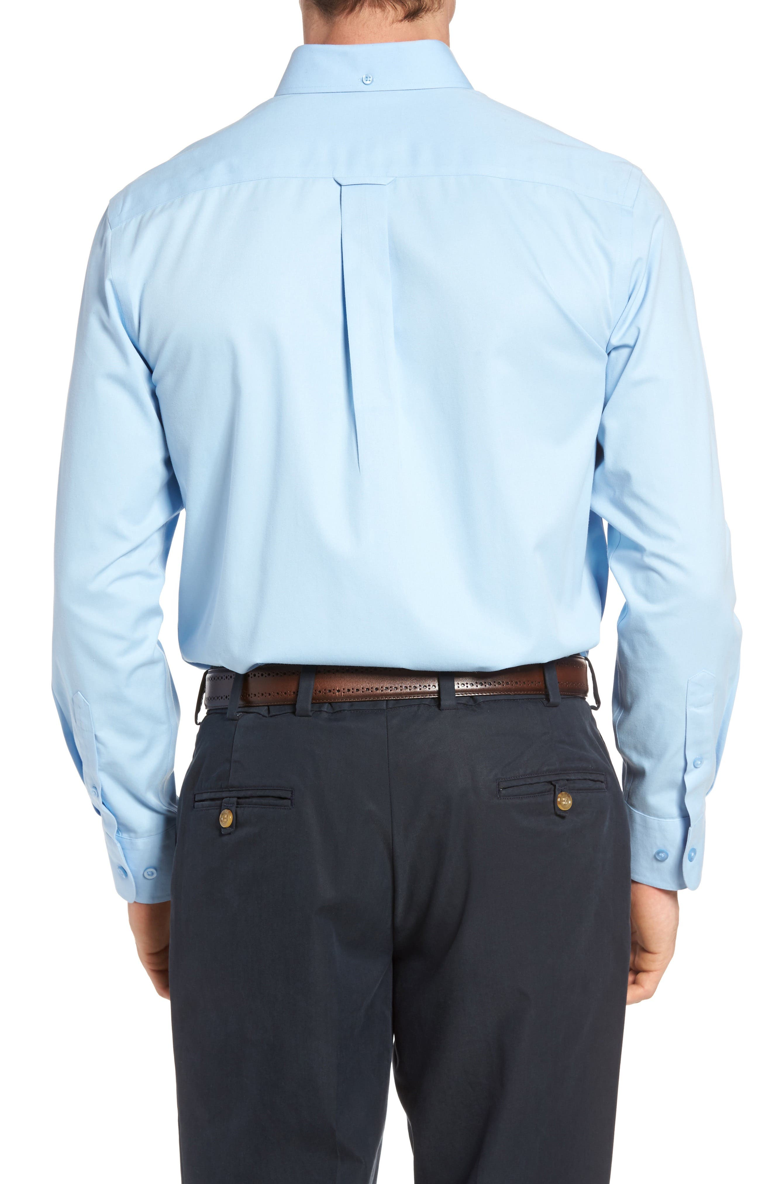 Smartcare<sup>™</sup> Traditional Fit Twill Boat Shirt,                             Alternate thumbnail 96, color,