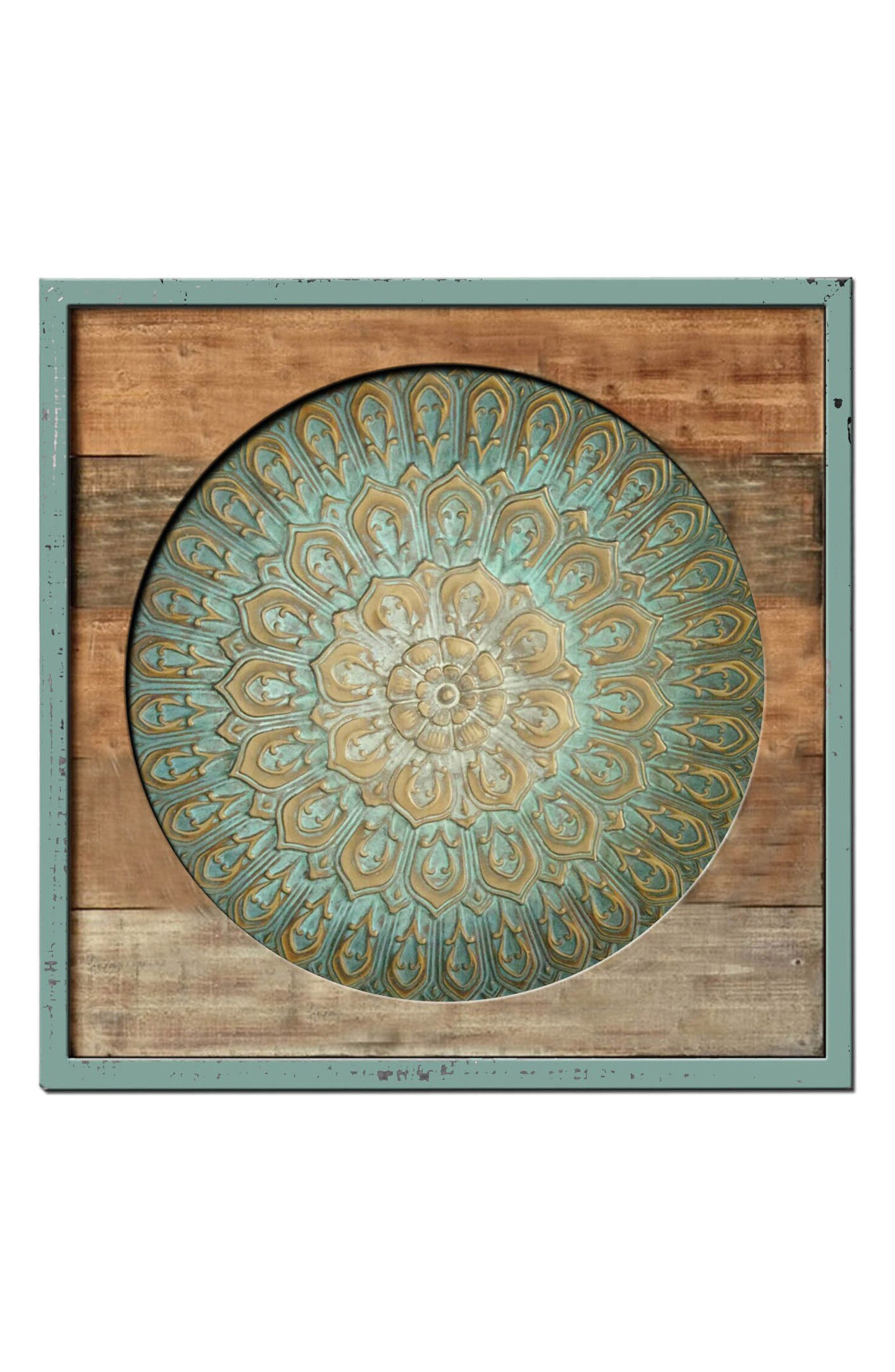 Wood & Metal Wall Art,                         Main,                         color, 440