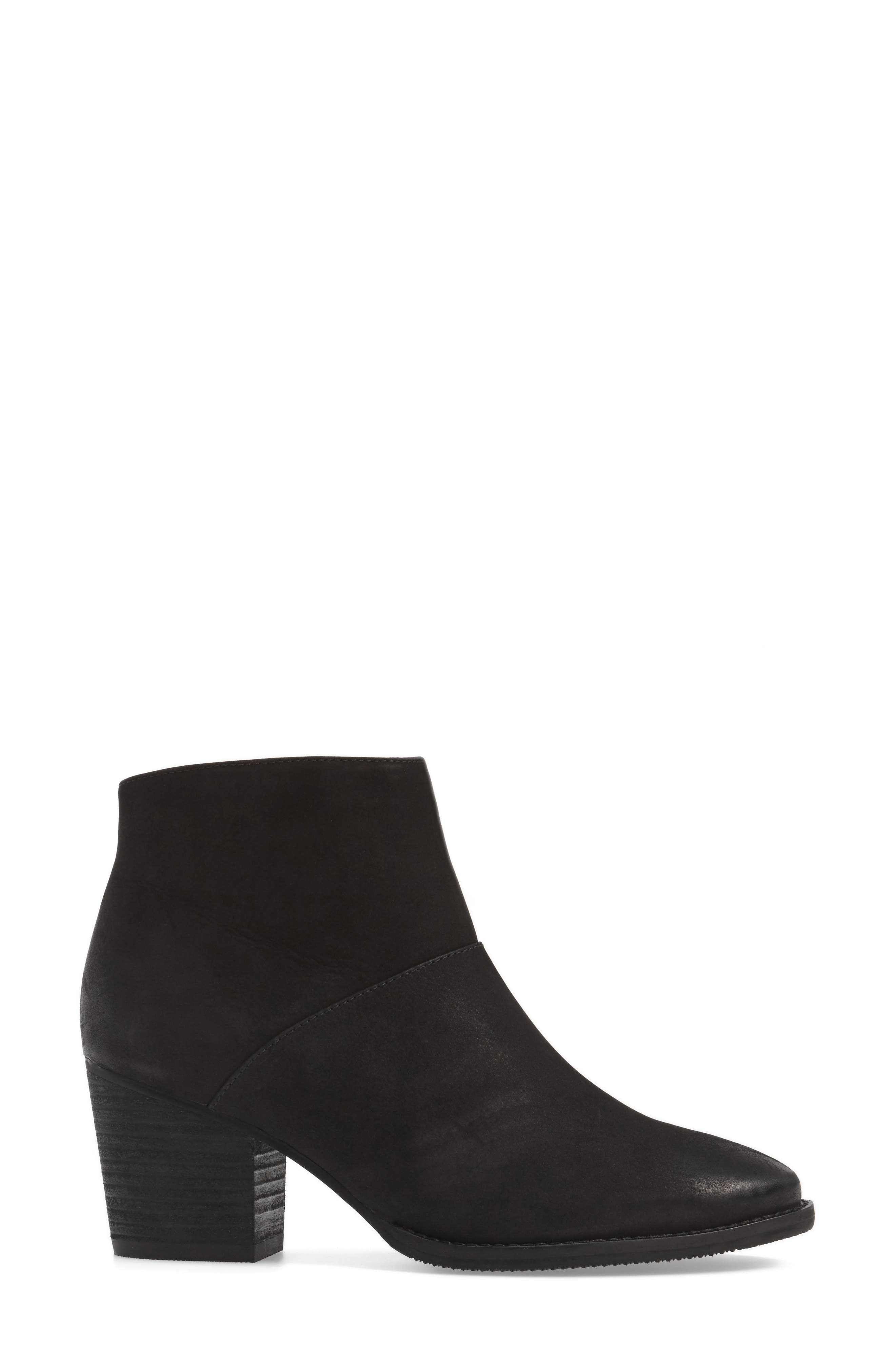 BLONDO,                             Nelli Waterproof Bootie,                             Alternate thumbnail 3, color,                             005