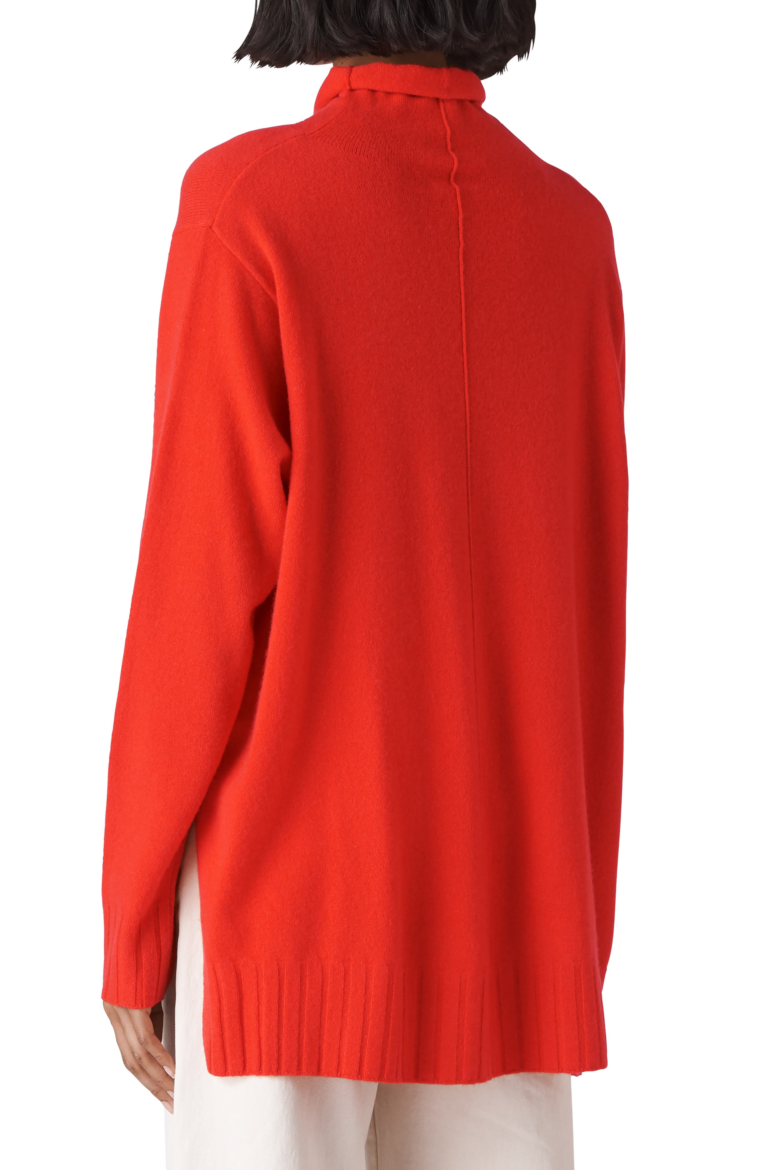 Funnel Neck Cashmere Sweater,                             Alternate thumbnail 2, color,                             600