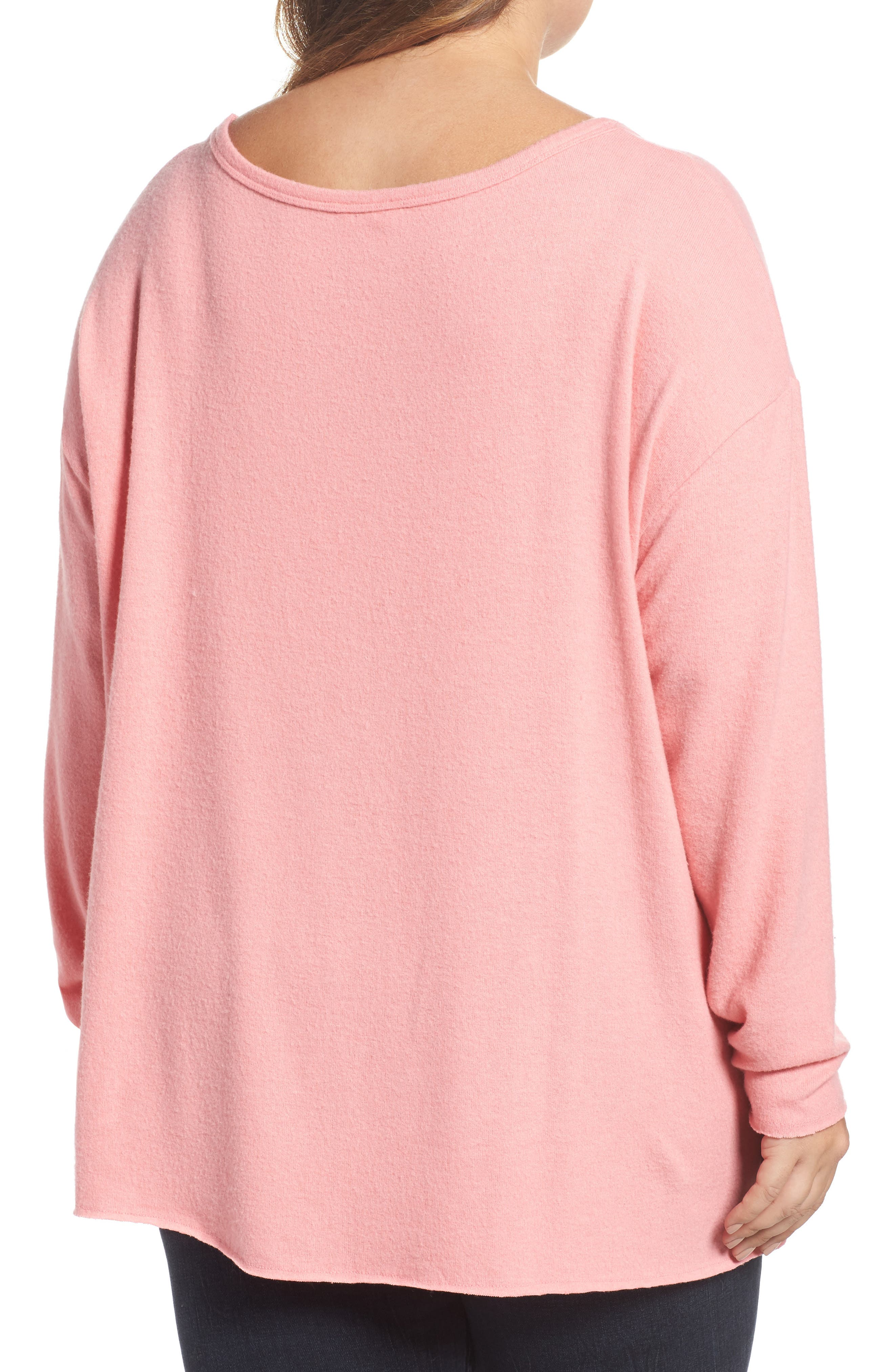 Drop Shoulder Pocket Top,                             Alternate thumbnail 6, color,