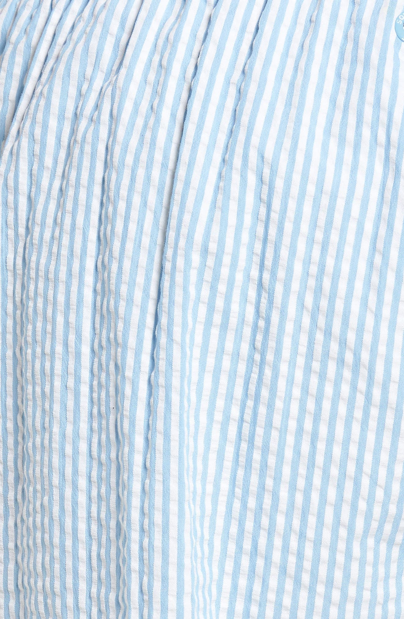 SOUTHERN TIDE,                             Seersucker Swim Trunks,                             Alternate thumbnail 5, color,                             392