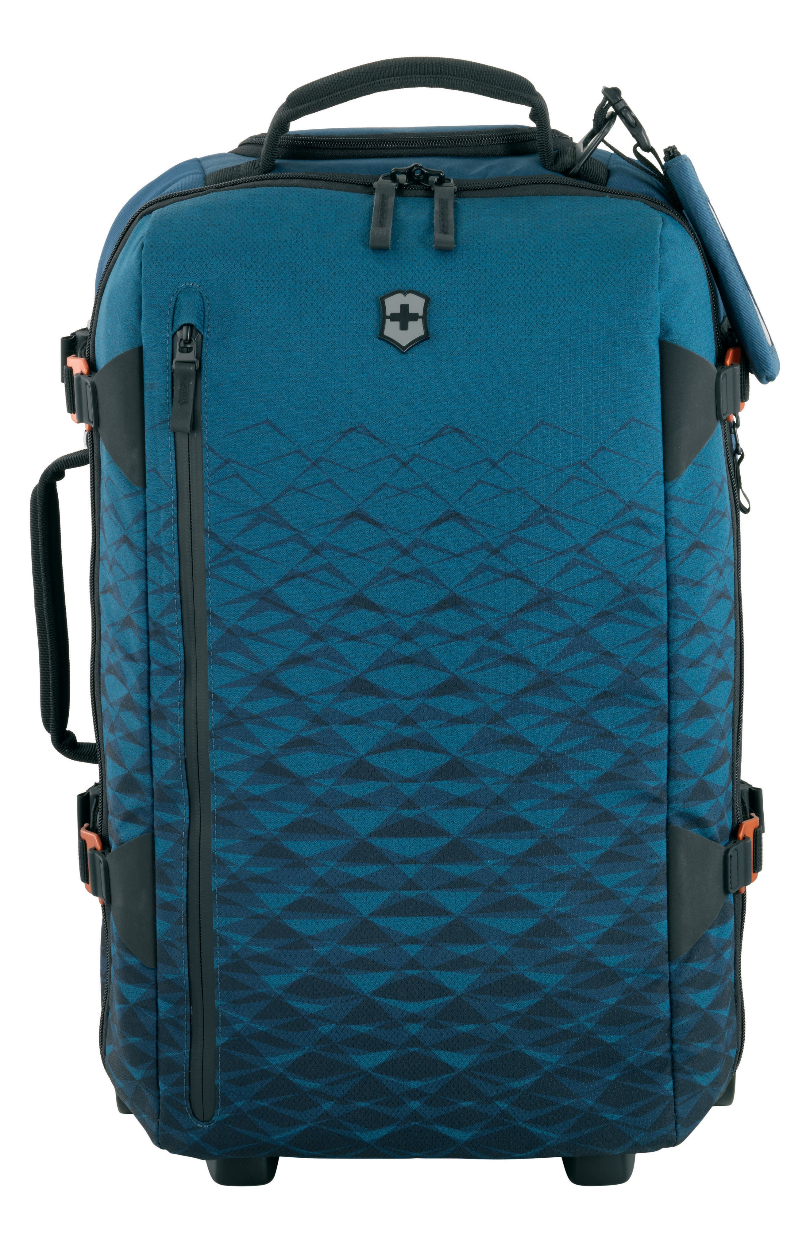 VICTORINOX SWISS ARMY<SUP>®</SUP>,                             VX Touring 22-Inch Carry-On,                             Main thumbnail 1, color,                             DARK TEAL