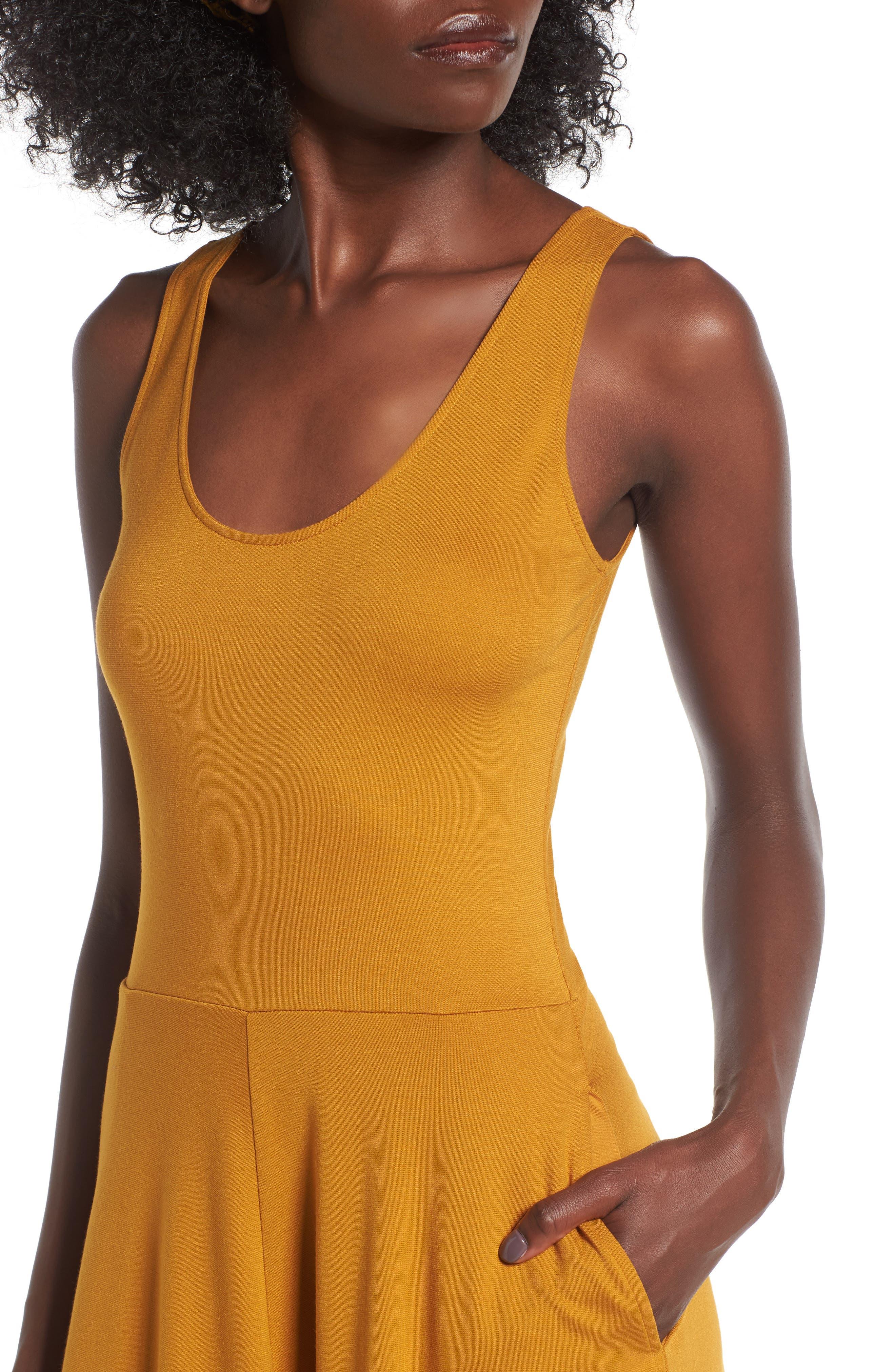 Stretch Knit Midi Dress,                             Alternate thumbnail 39, color,