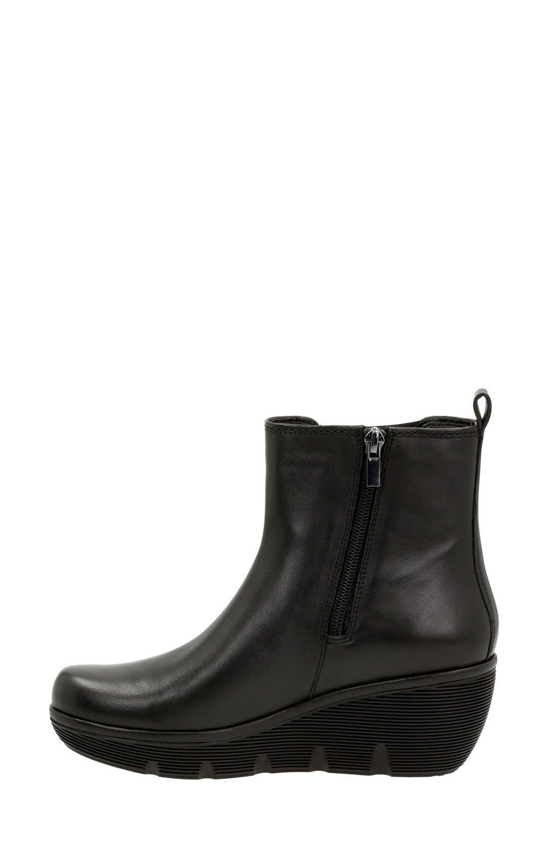 'Clarene Surf' Wedge Chelsea Boot,                             Alternate thumbnail 2, color,                             003