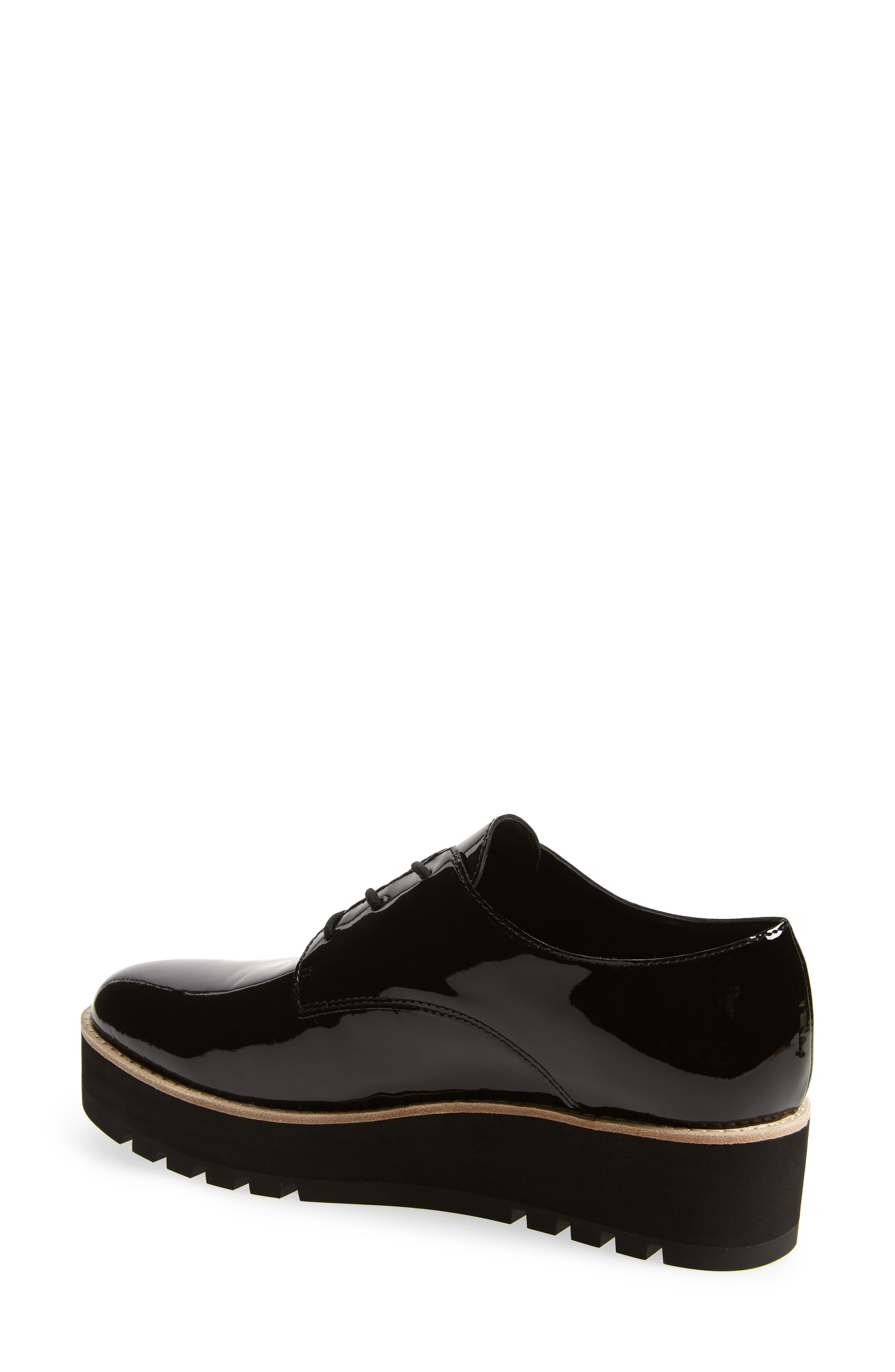Eddy Derby,                             Alternate thumbnail 2, color,                             BLACK PATENT LEATHER