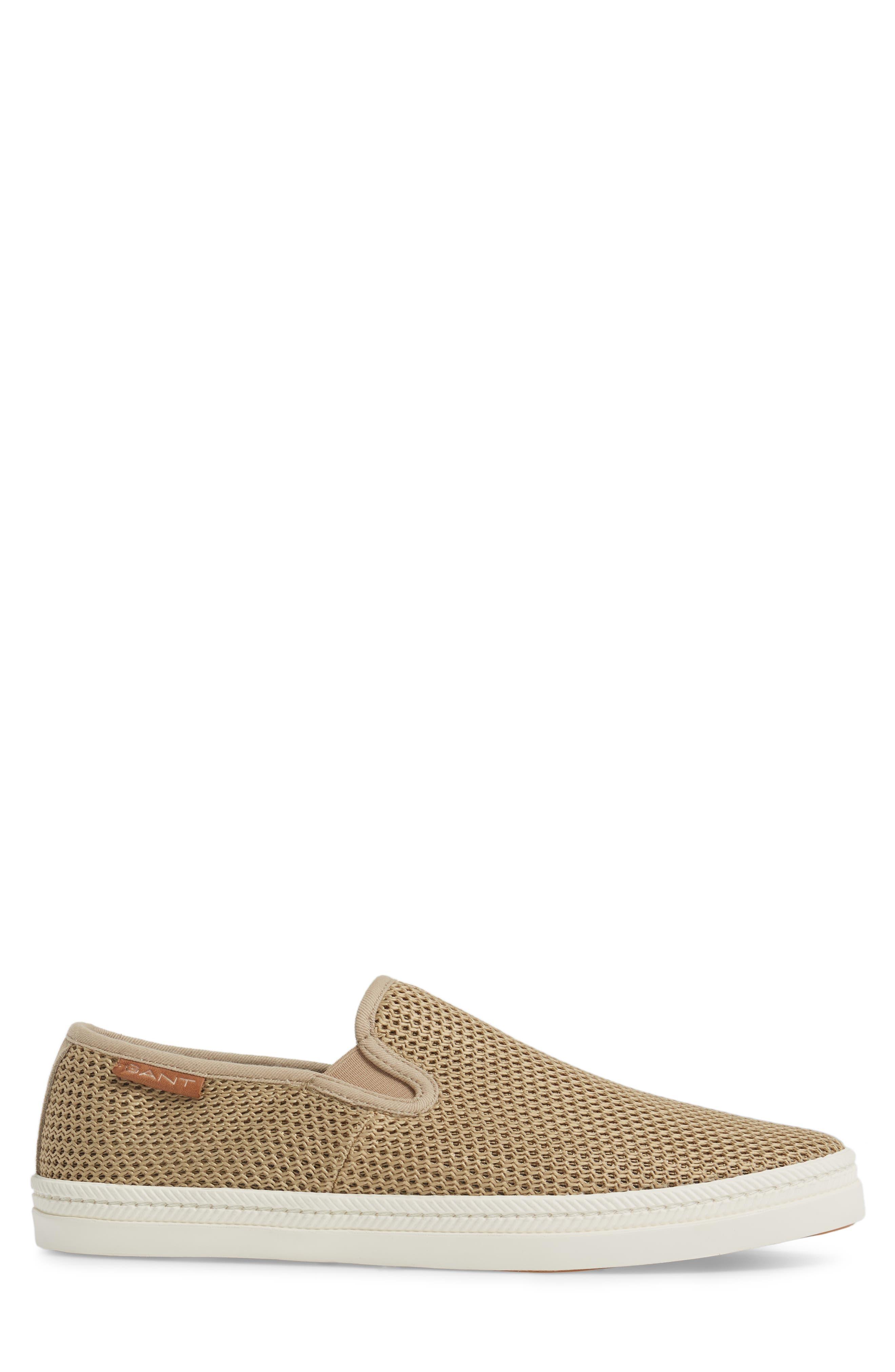 Delray Woven Slip-On Sneaker,                             Alternate thumbnail 3, color,                             252