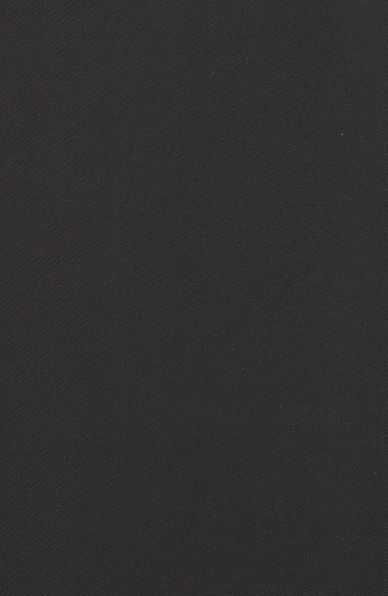 Slit Maxi Slipdress,                             Alternate thumbnail 5, color,                             001