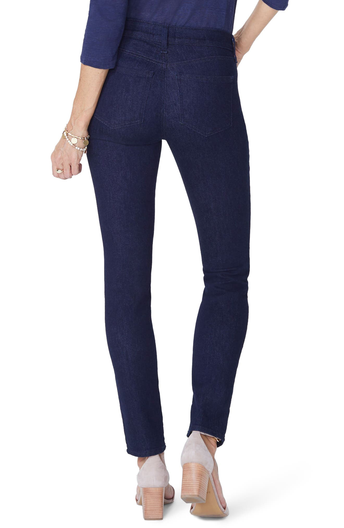 Alina Stretch Skinny Jeans,                             Alternate thumbnail 4, color,