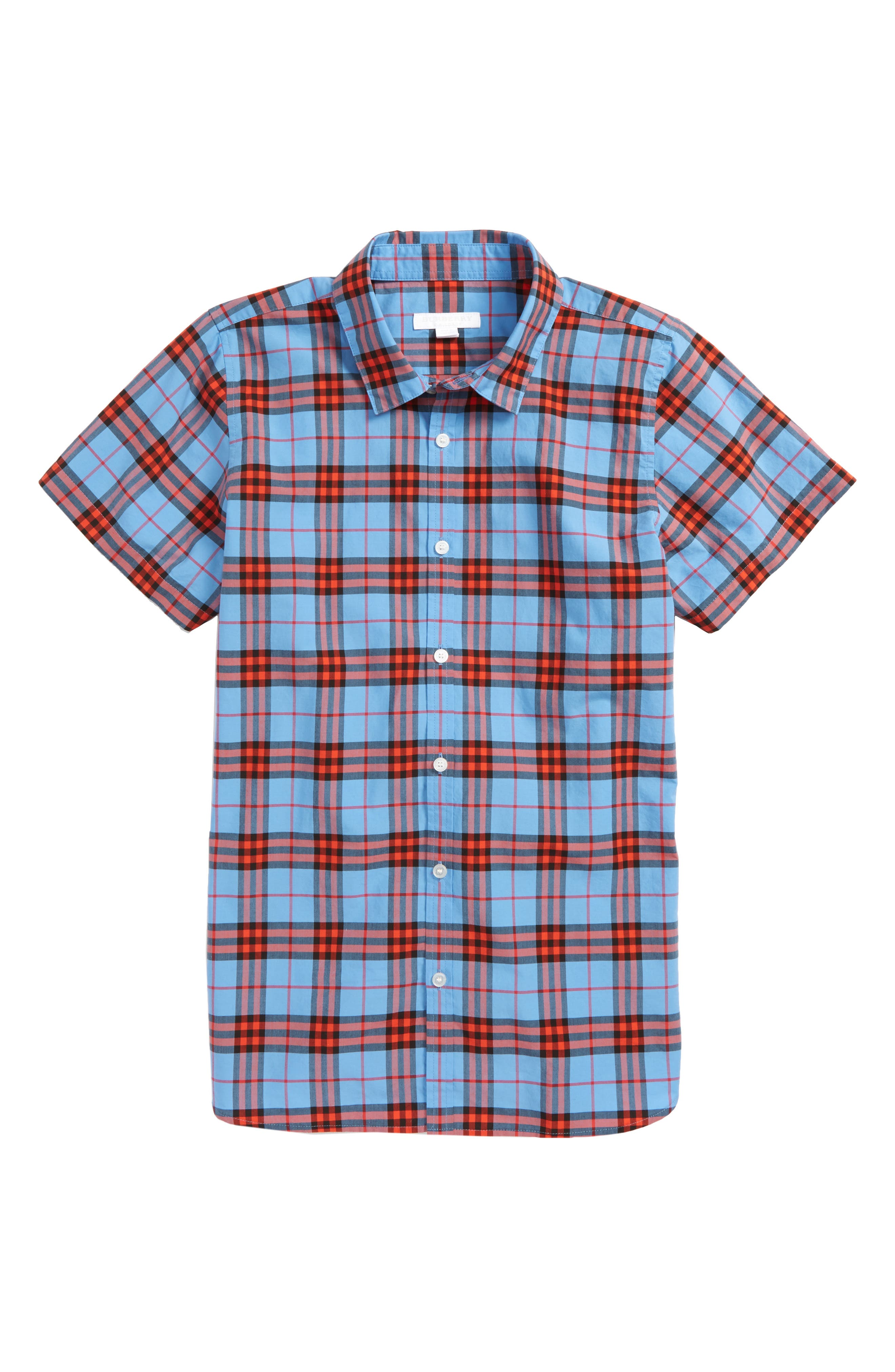 Clarkey Plaid Woven Shirt,                         Main,                         color, 428