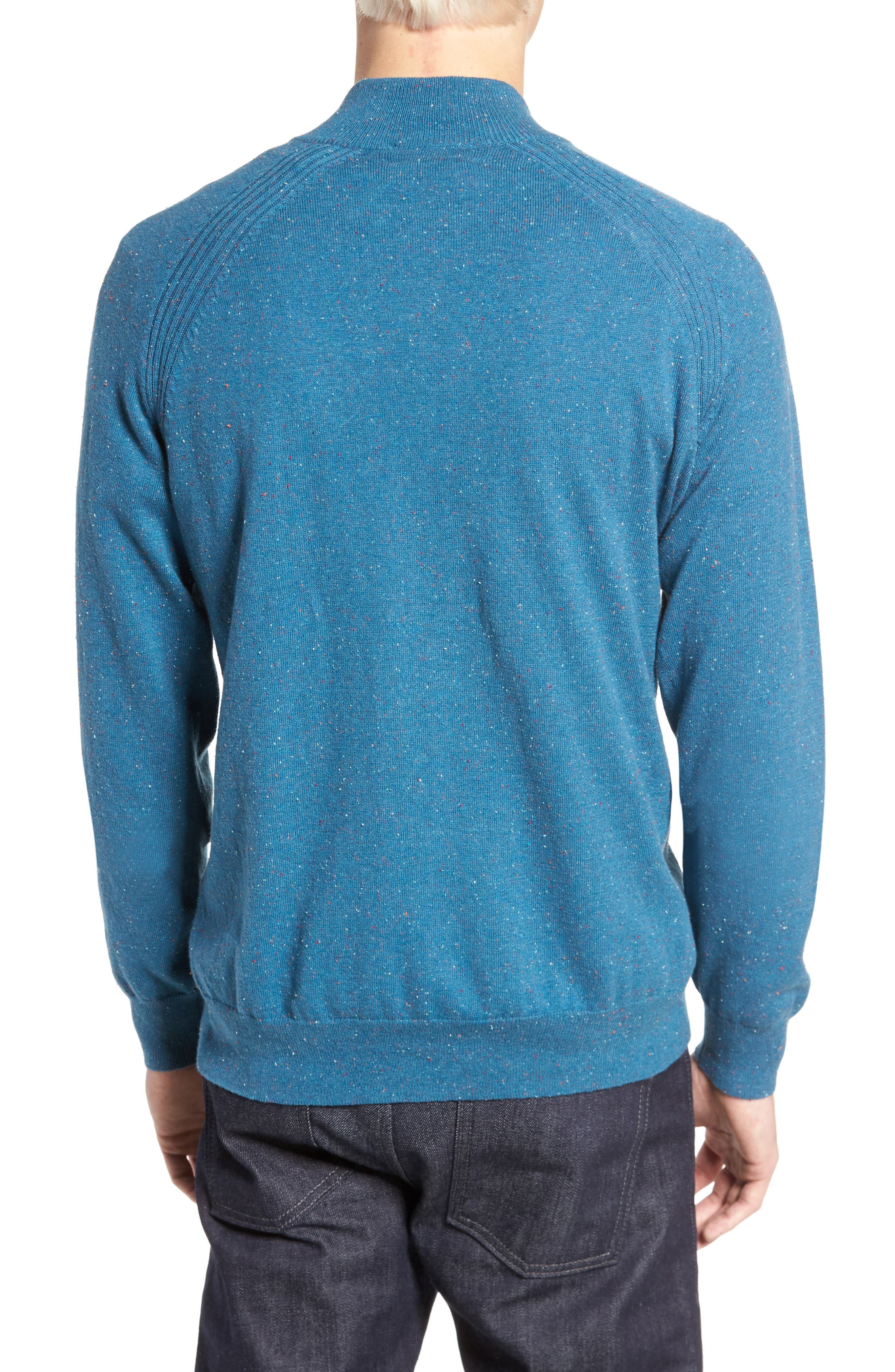 Donegal Quarter Zip Pullover,                             Alternate thumbnail 2, color,                             445