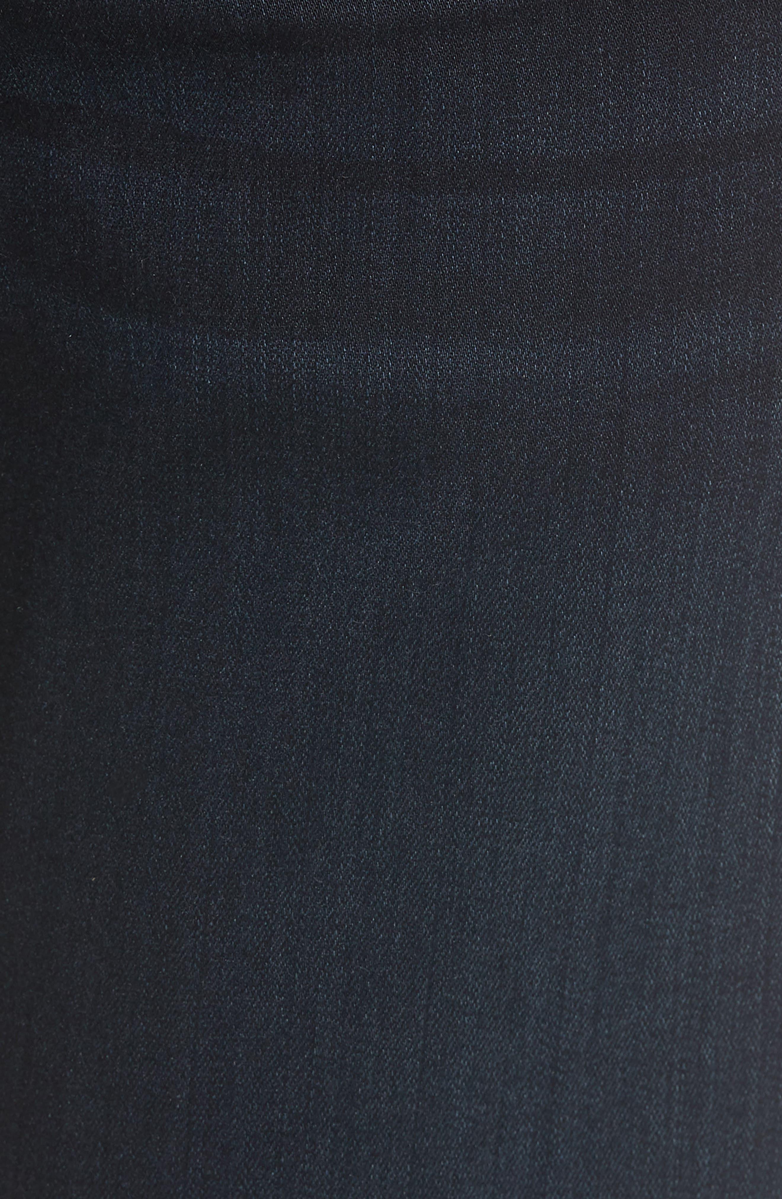 Normandie Straight Leg Jeans,                             Alternate thumbnail 5, color,                             FLEET