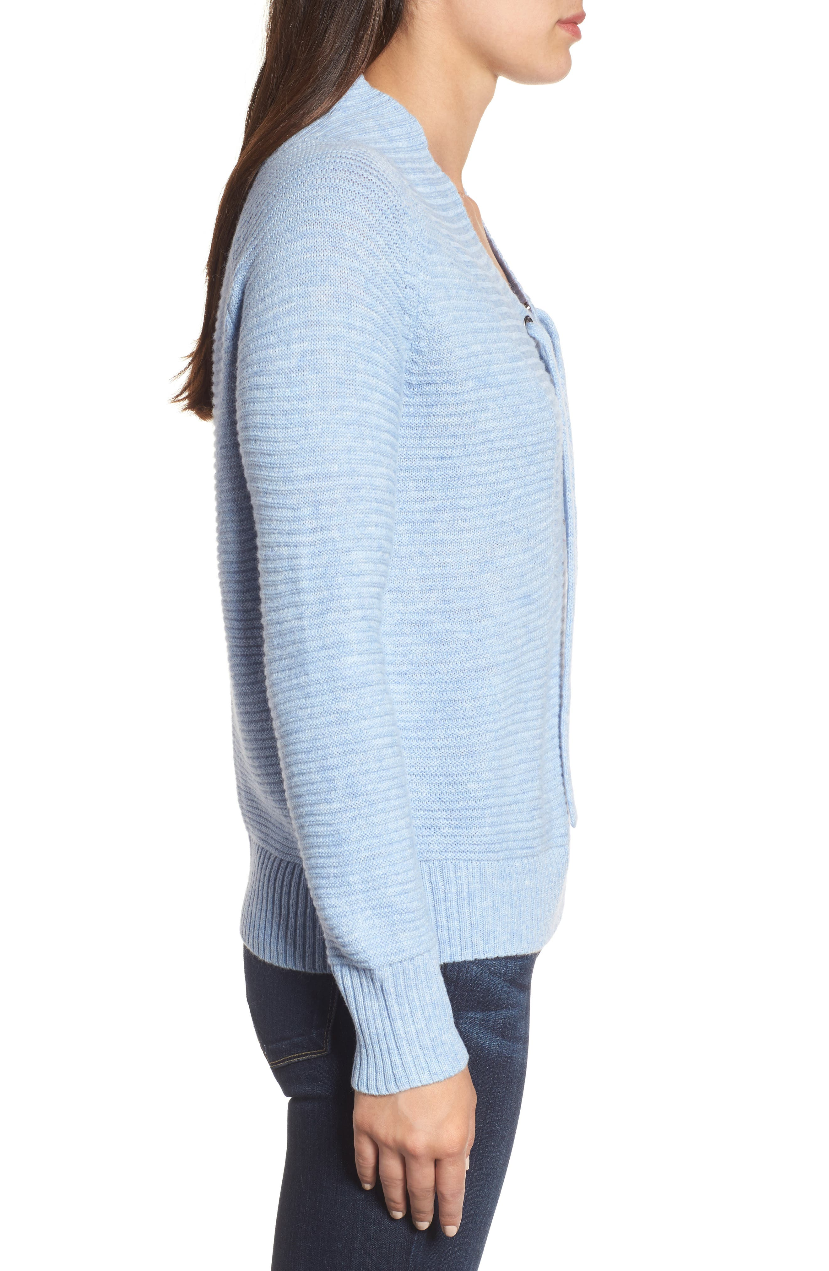 Lace-Up Sweater,                             Alternate thumbnail 6, color,