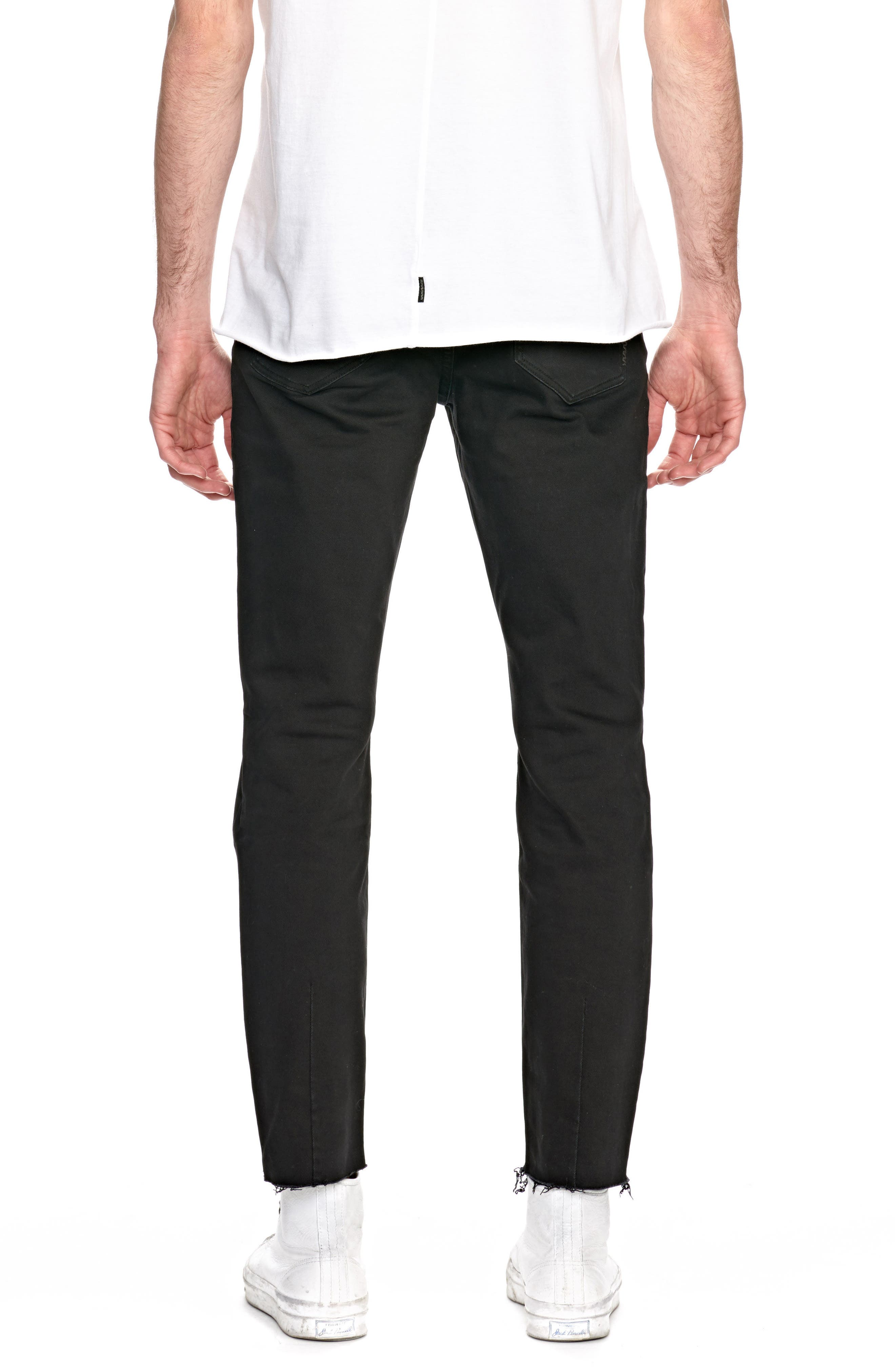 Iggy Skinny Fit Jeans,                             Alternate thumbnail 2, color,                             001