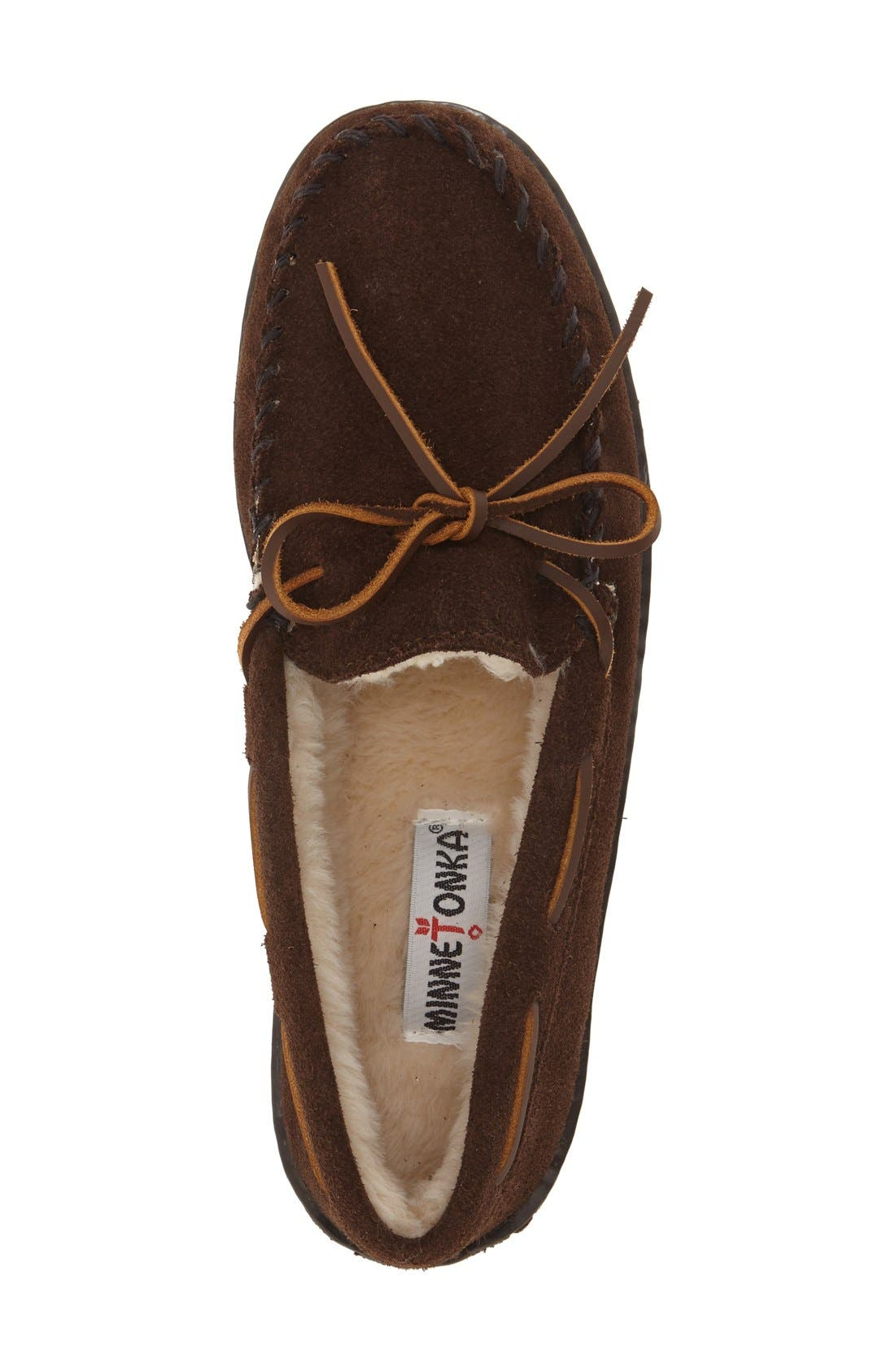 Moccasin,                             Alternate thumbnail 3, color,                             CHOCOLATE