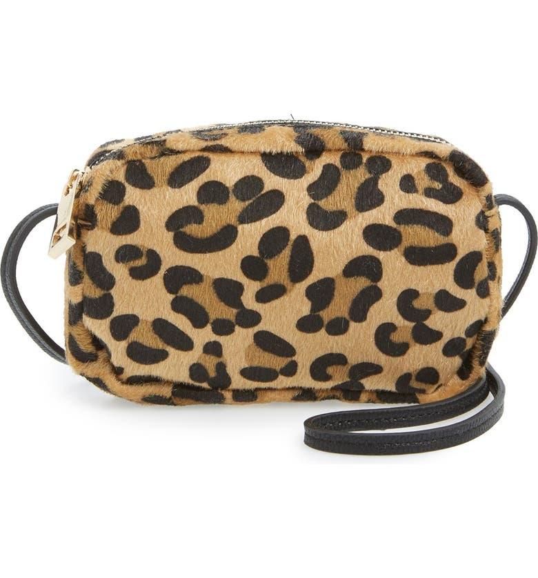 Leopard Print Mini Crossbody Bag