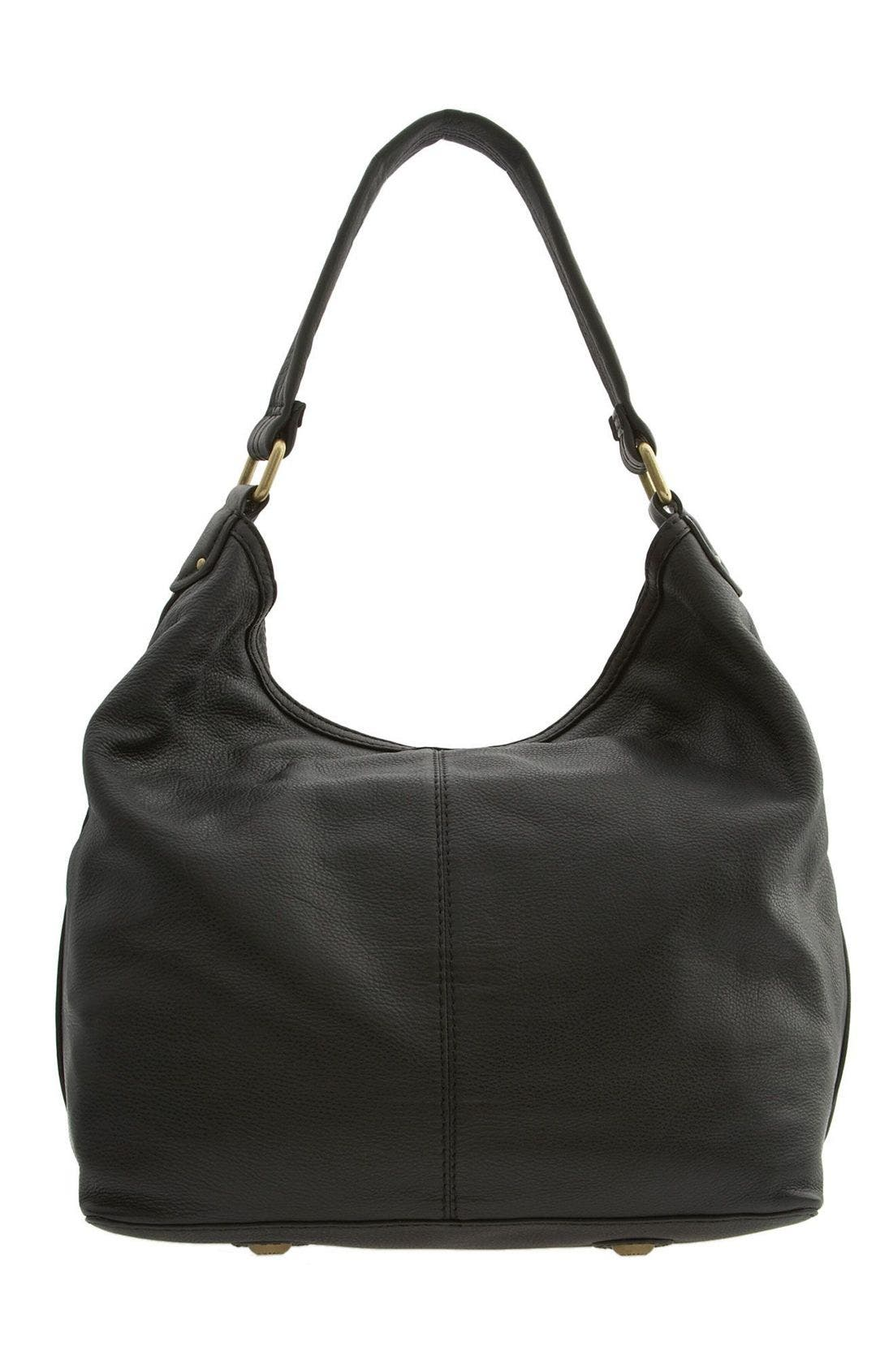 MARC BY MARC JACOBS 'Totally Turnlock - Faridah' Hobo Bag,                             Alternate thumbnail 4, color,                             001