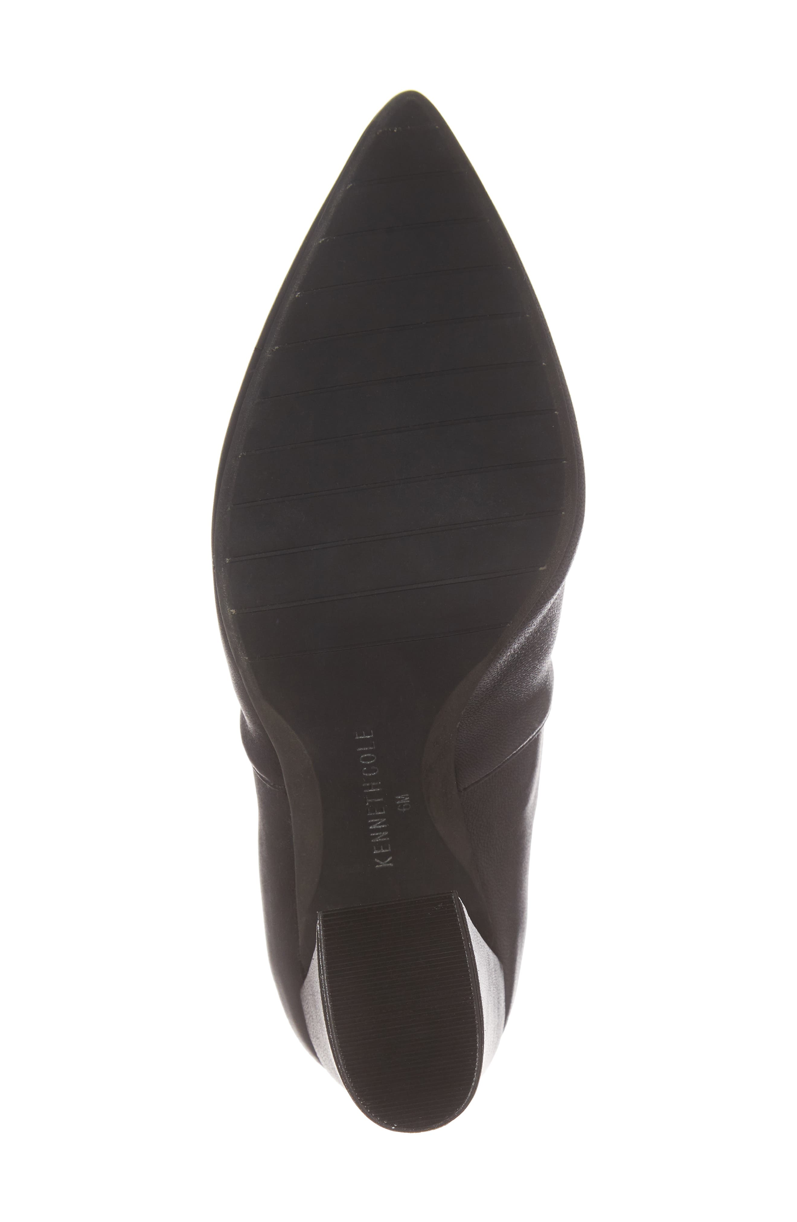 Gracelyn Pointy Toe Bootie,                             Alternate thumbnail 6, color,                             001