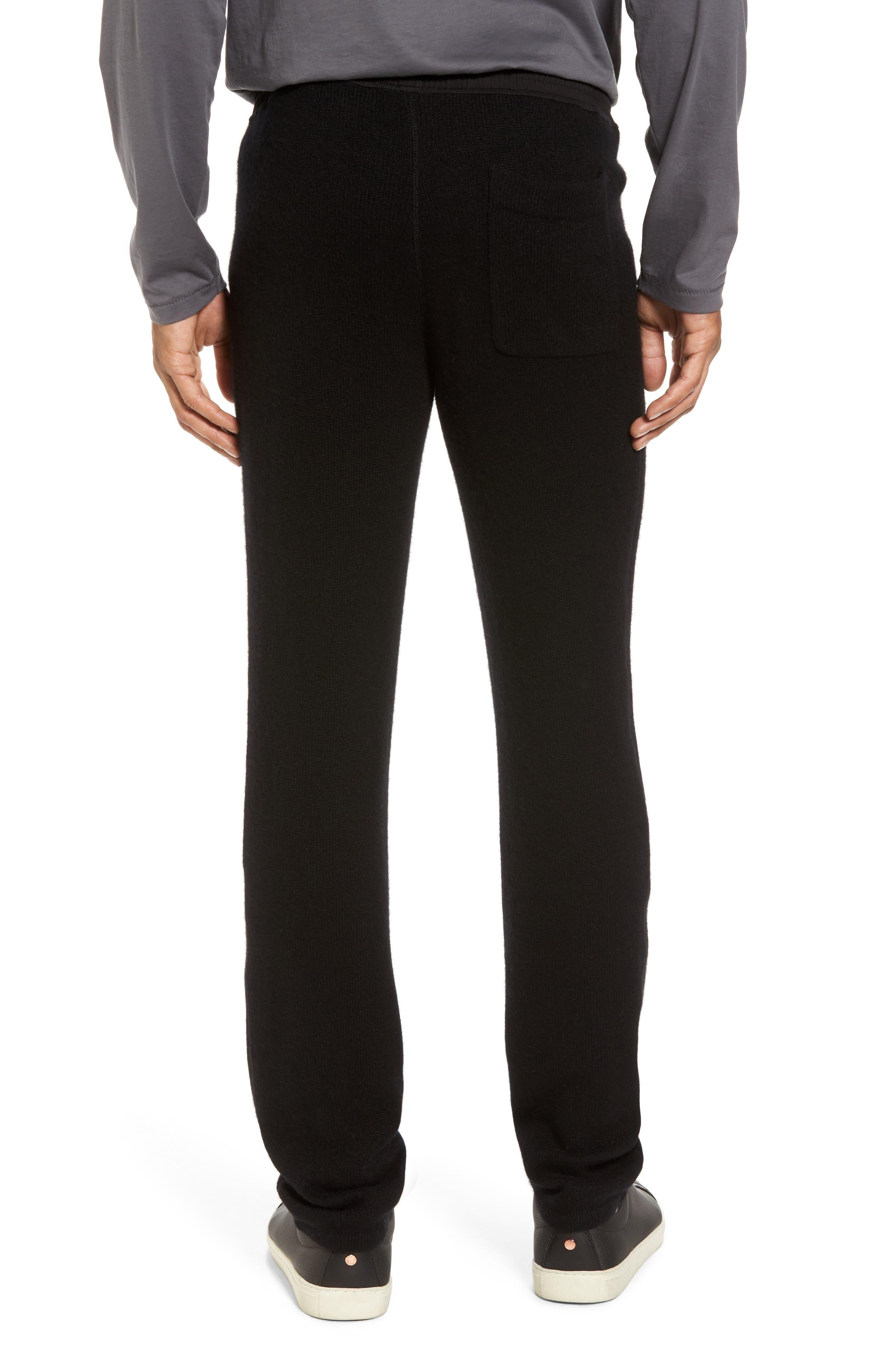 Cashmere Sweatpants,                             Alternate thumbnail 2, color,                             001