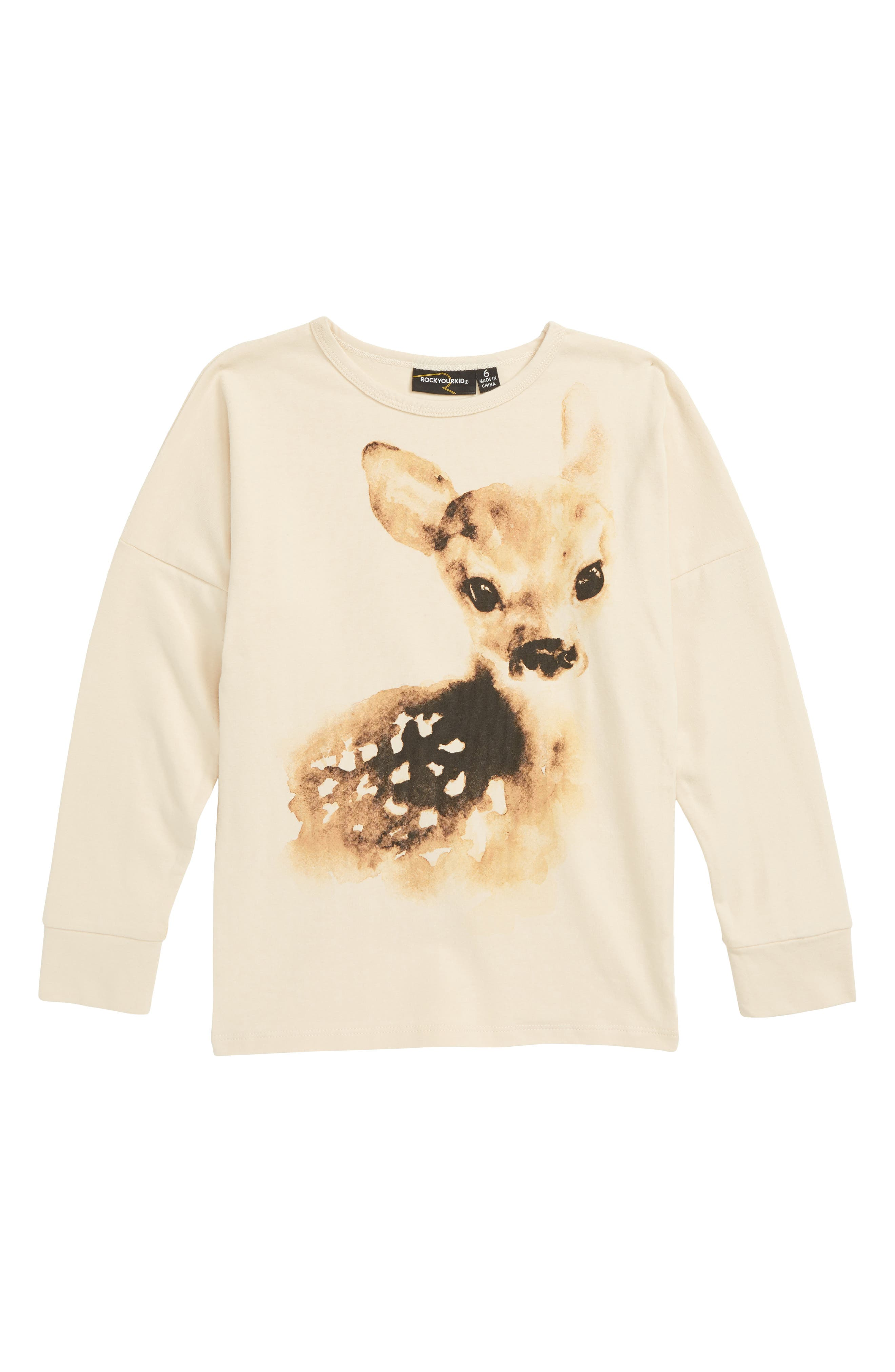 Fawn Darling Tee,                         Main,                         color, 250