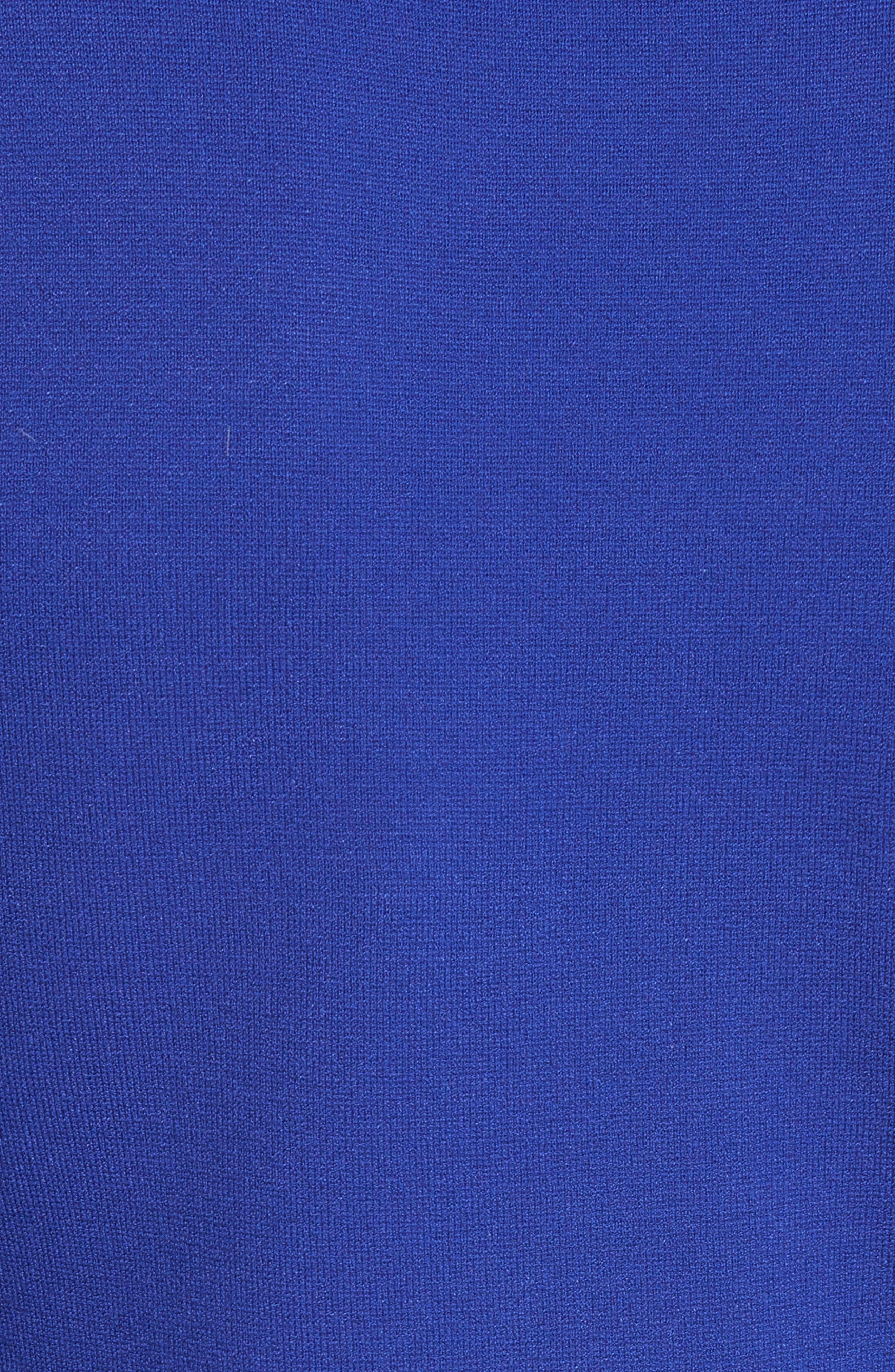Diane von Furstenberg Flutter Sleeve Mock Neck Sweater,                             Alternate thumbnail 5, color,                             498
