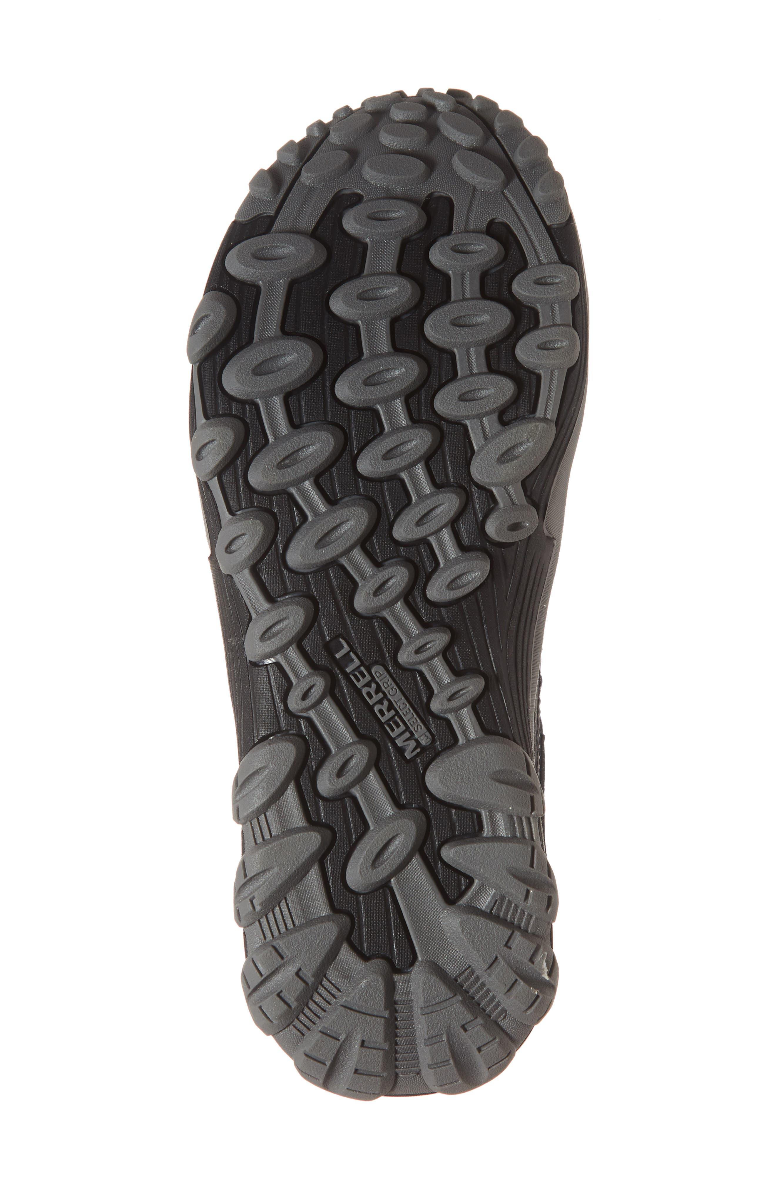 Chameleon 7 Waterproof Sneaker,                             Alternate thumbnail 6, color,                             BLACK