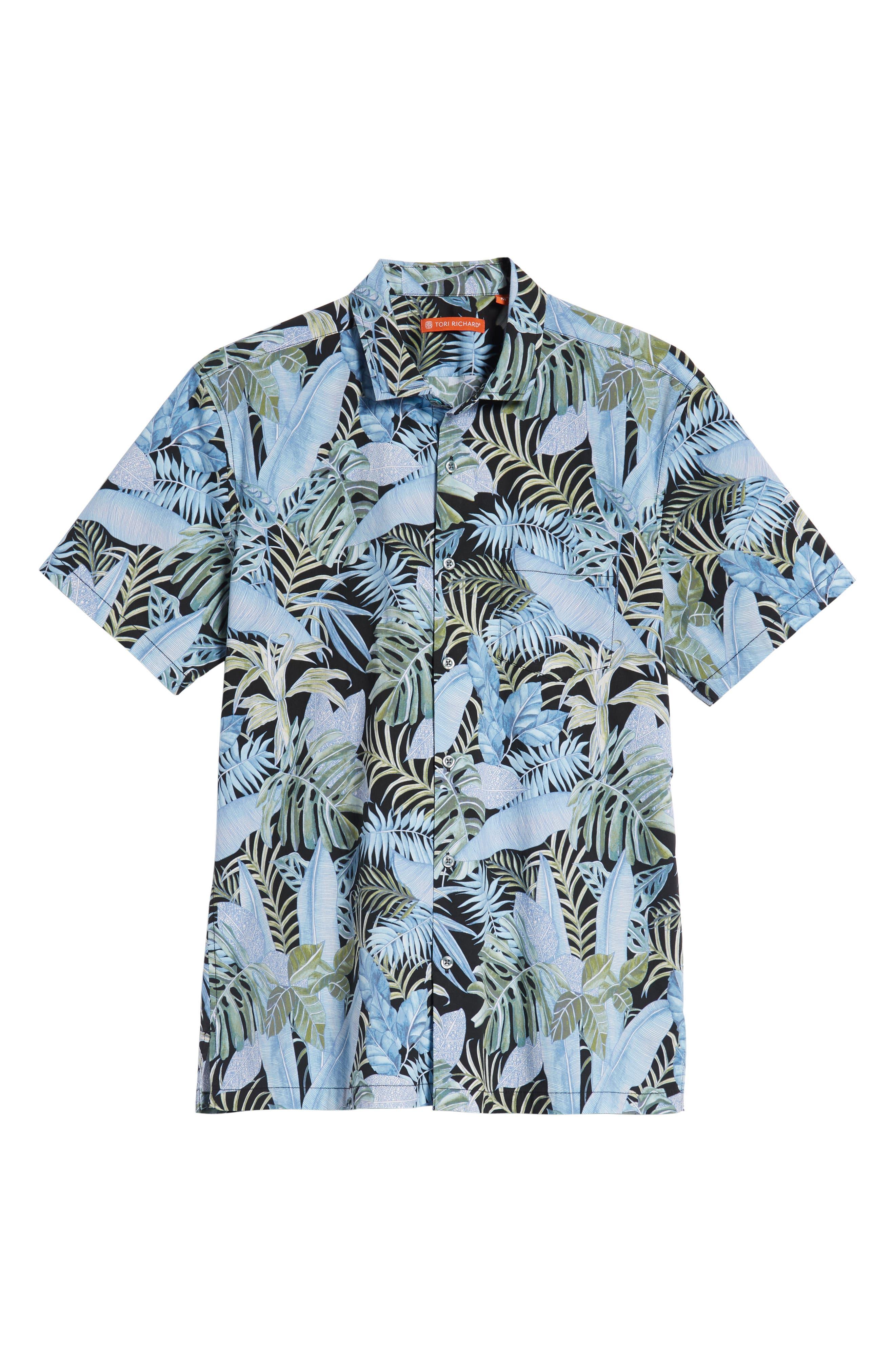 Sumatra Regular Fit Sport Shirt,                             Alternate thumbnail 5, color,                             001