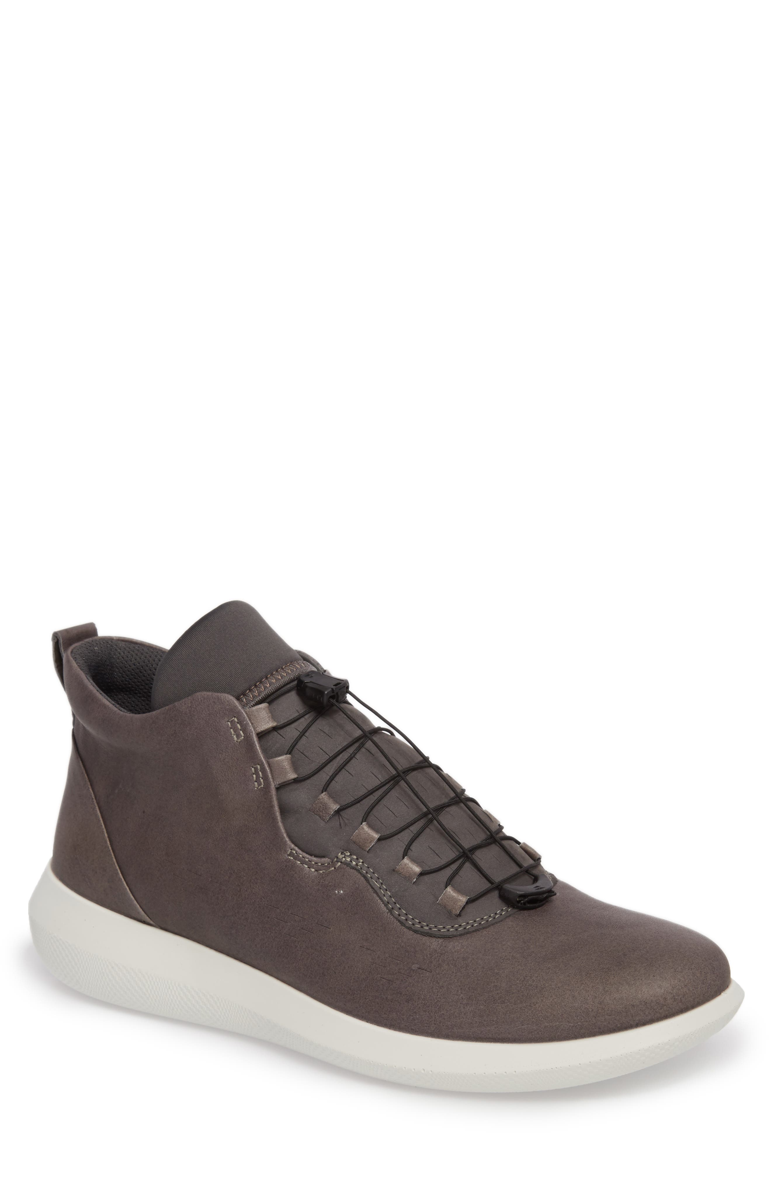 Scinapse High Top Sneaker,                             Main thumbnail 1, color,                             WILD DOVE LEATHER
