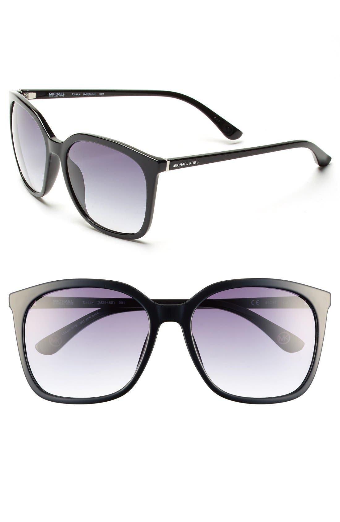 59mm Sunglasses,                             Main thumbnail 1, color,                             001