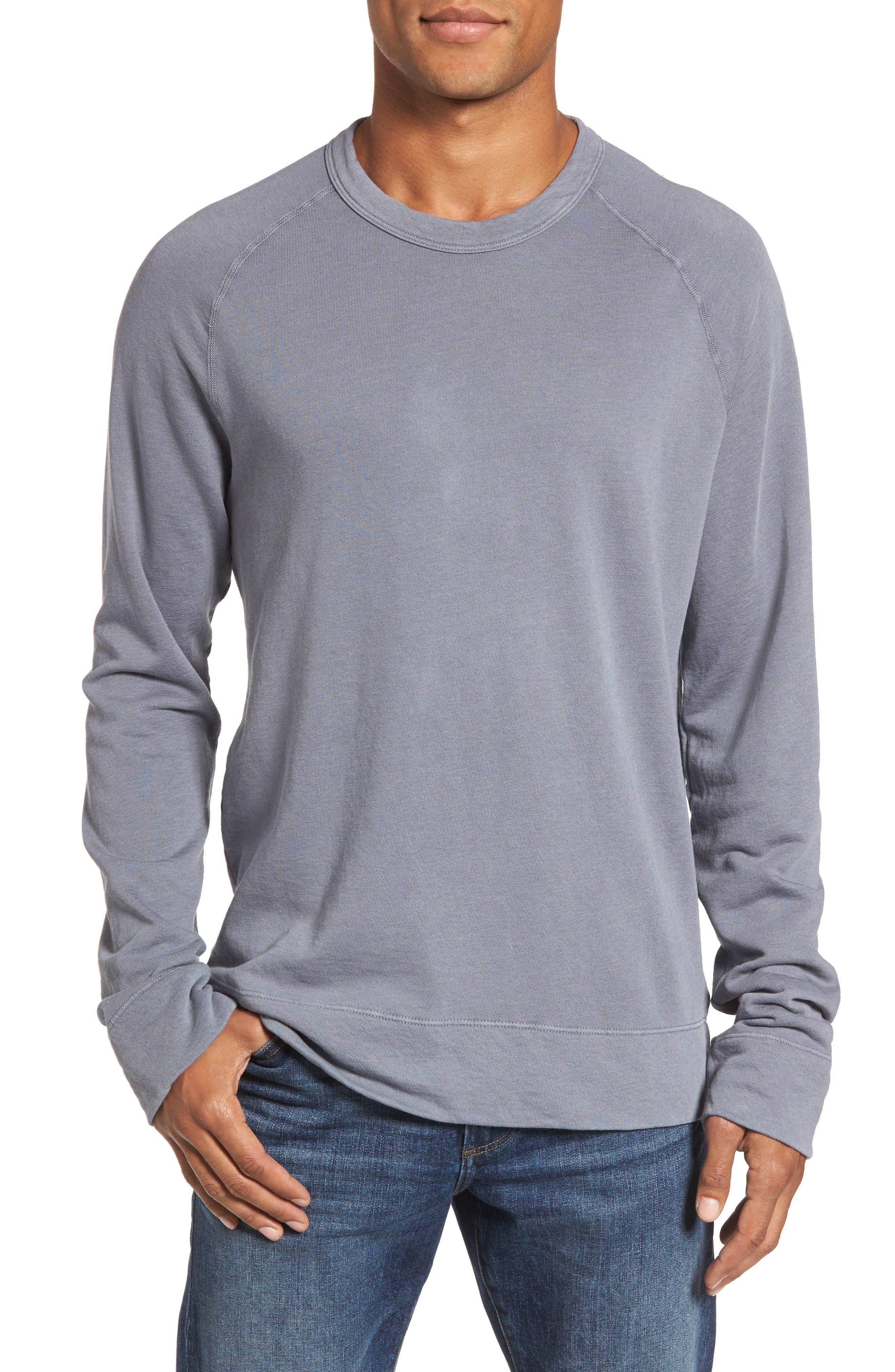 Raglan Crewneck Sweatshirt,                         Main,                         color, 029