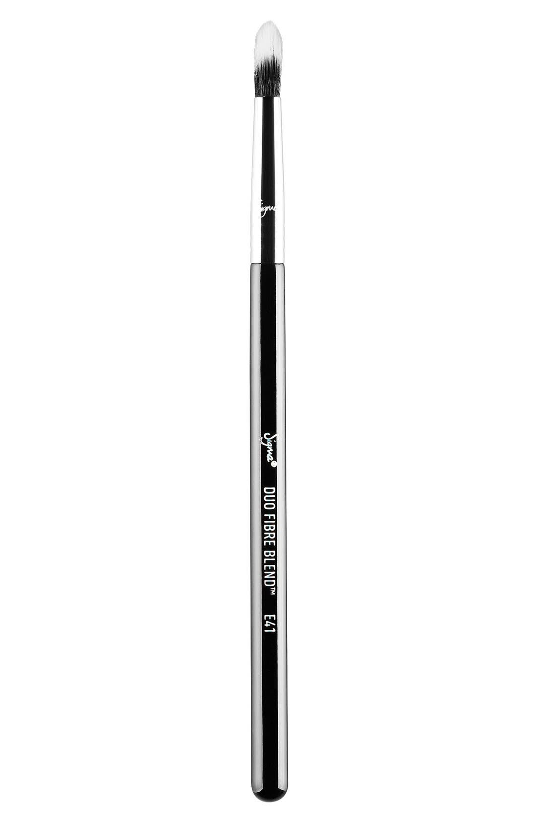 E41 Duo Fibre Blend Brush,                             Main thumbnail 1, color,                             NO COLOR