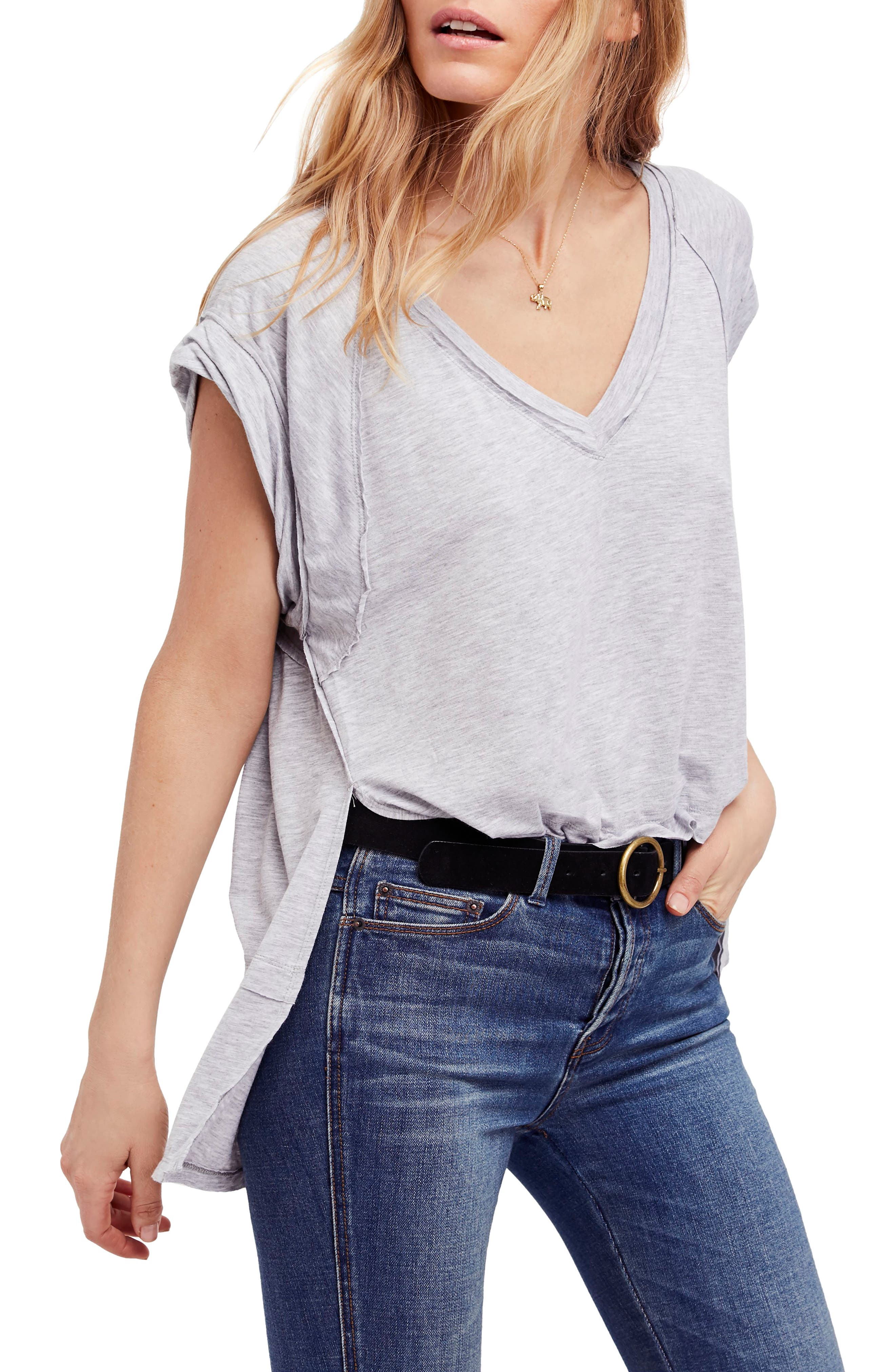 We the Free by Free People Voyage Tee,                             Main thumbnail 2, color,